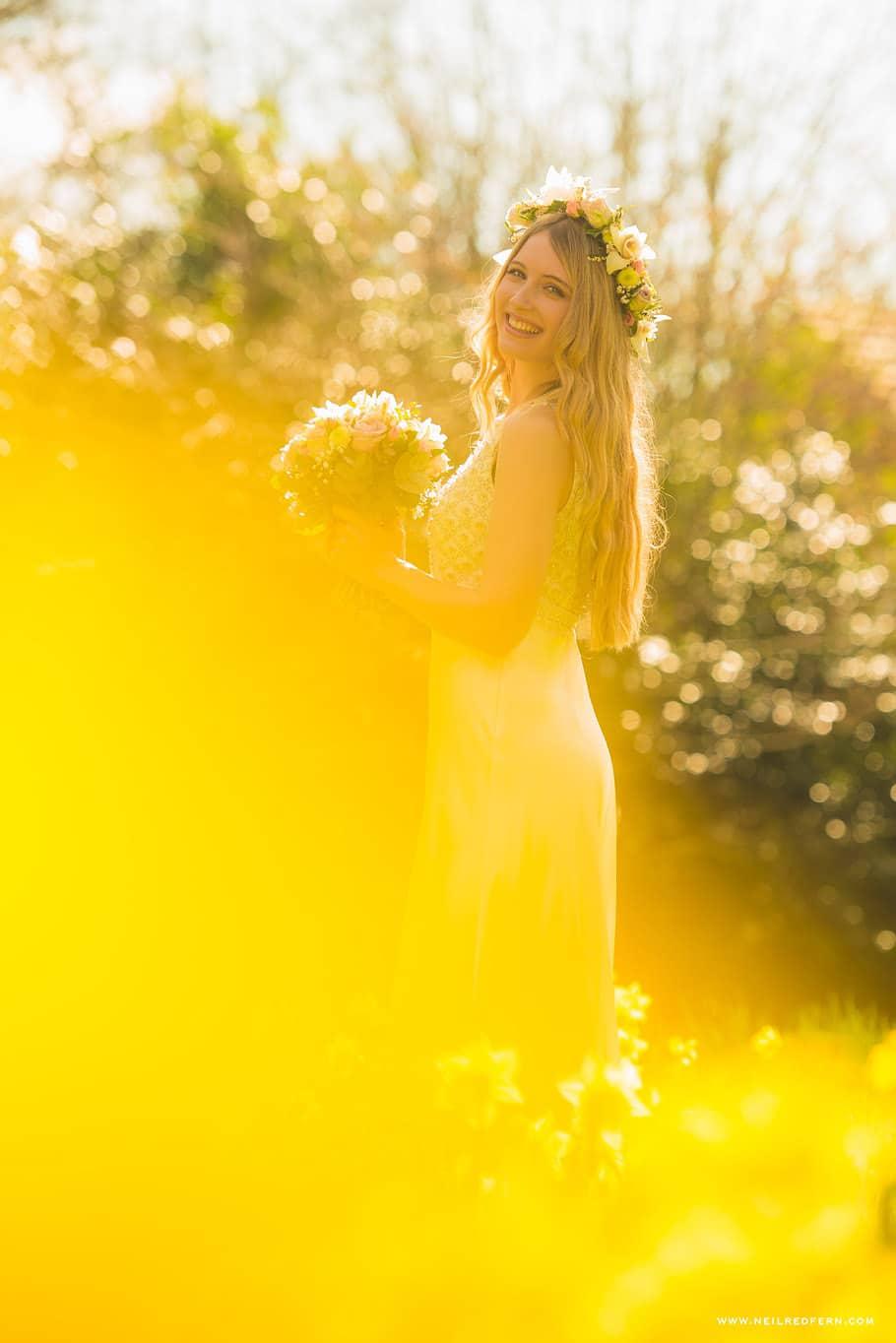 Summer bride photograph 1