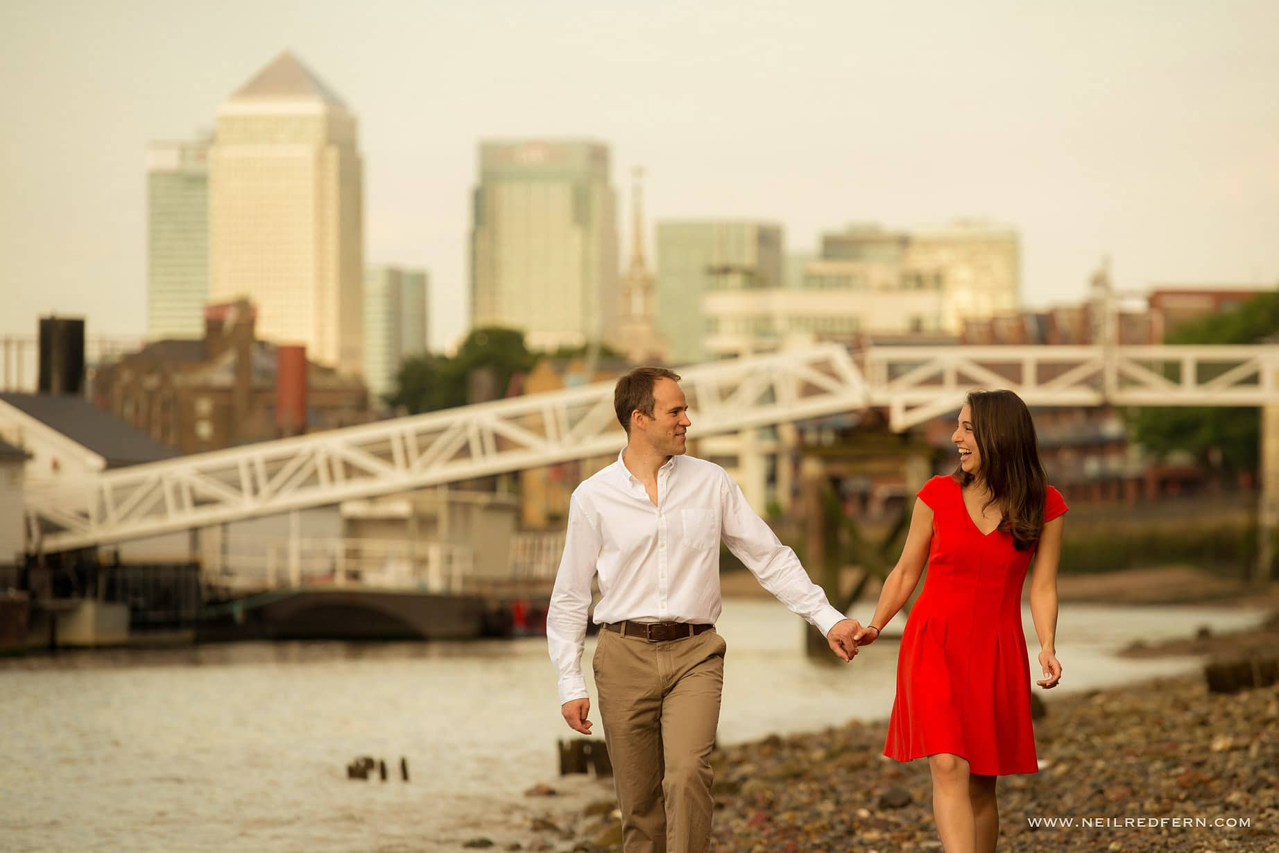 Engagement shoot in London 01