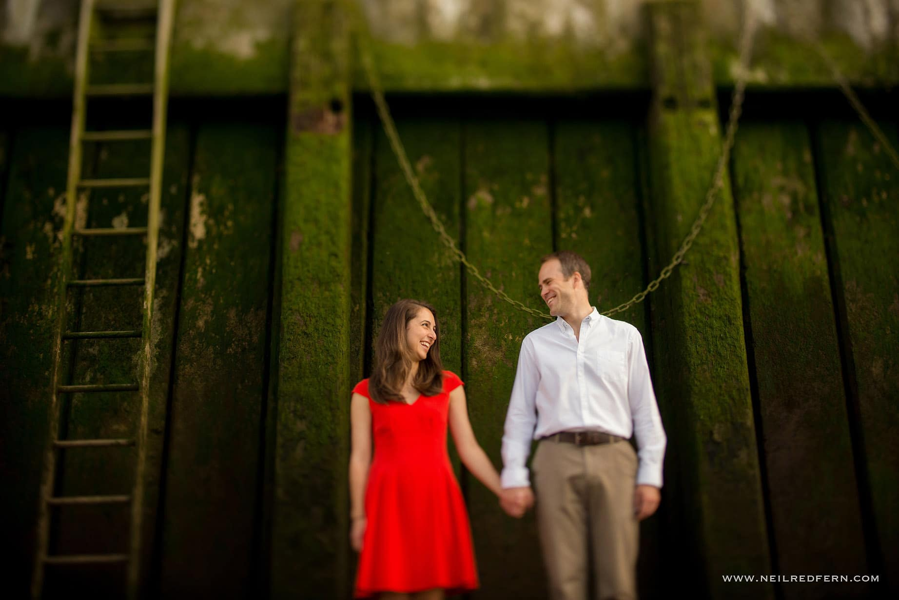 Engagement shoot in London 03