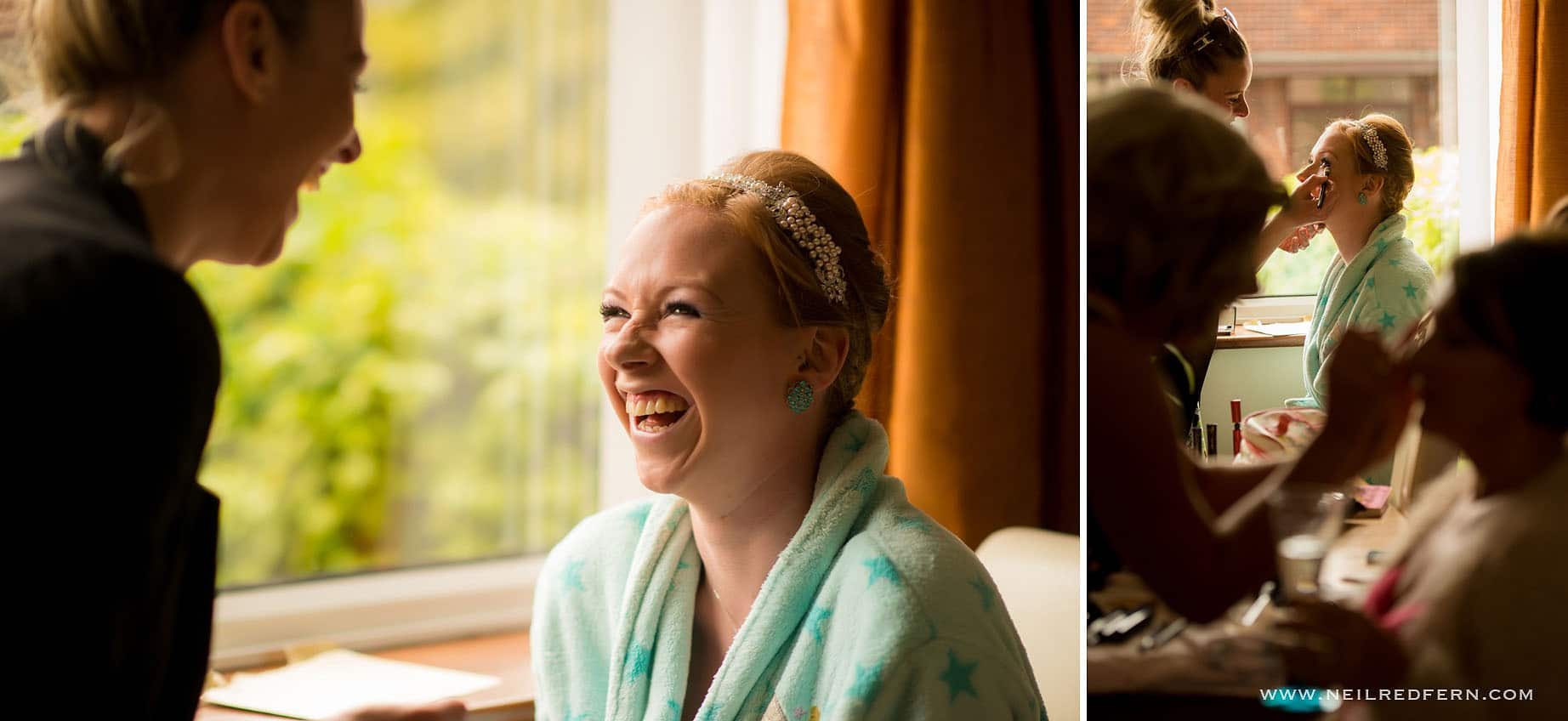 Bride getting ready in the morning 04