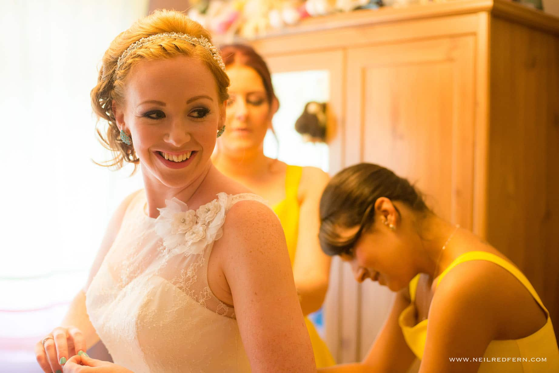 Bride getting ready in the morning 10