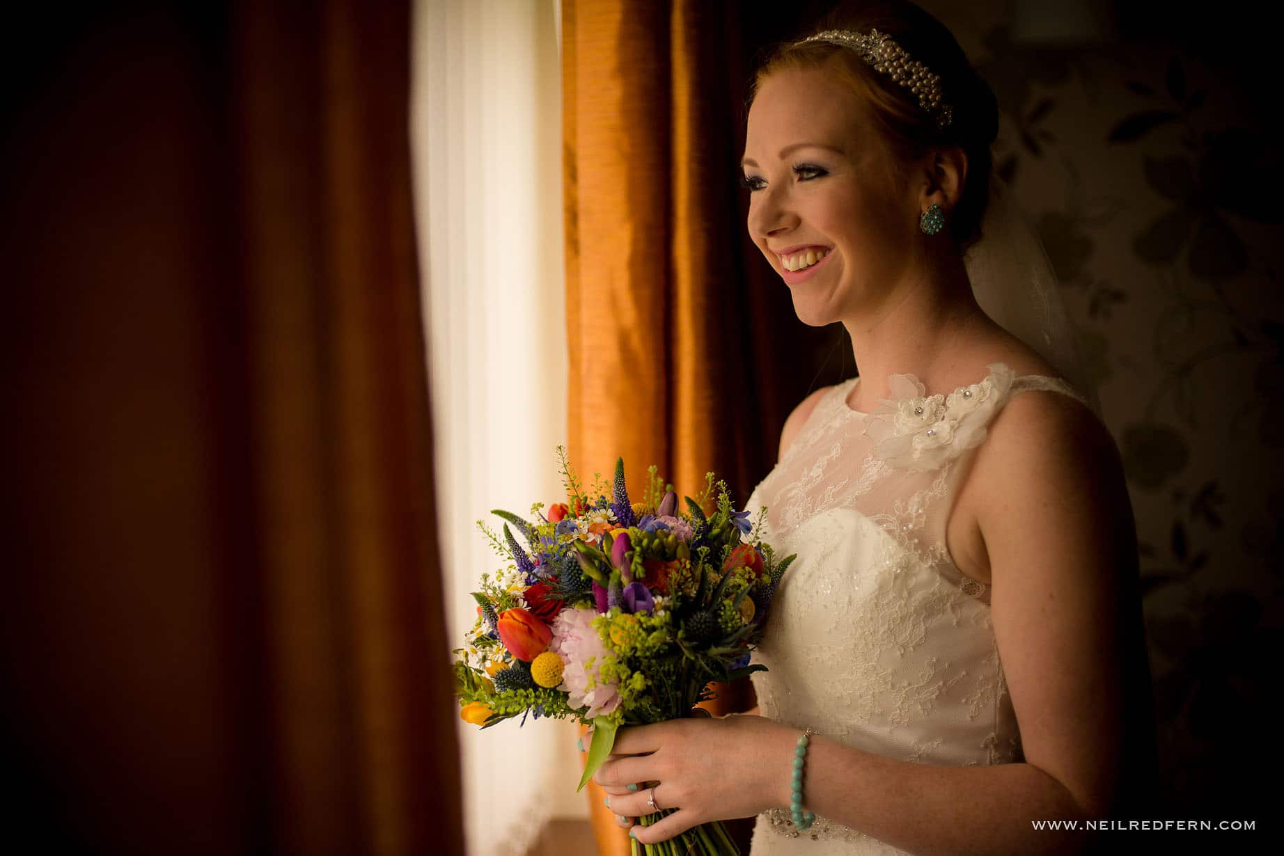 Bride getting ready in the morning 12
