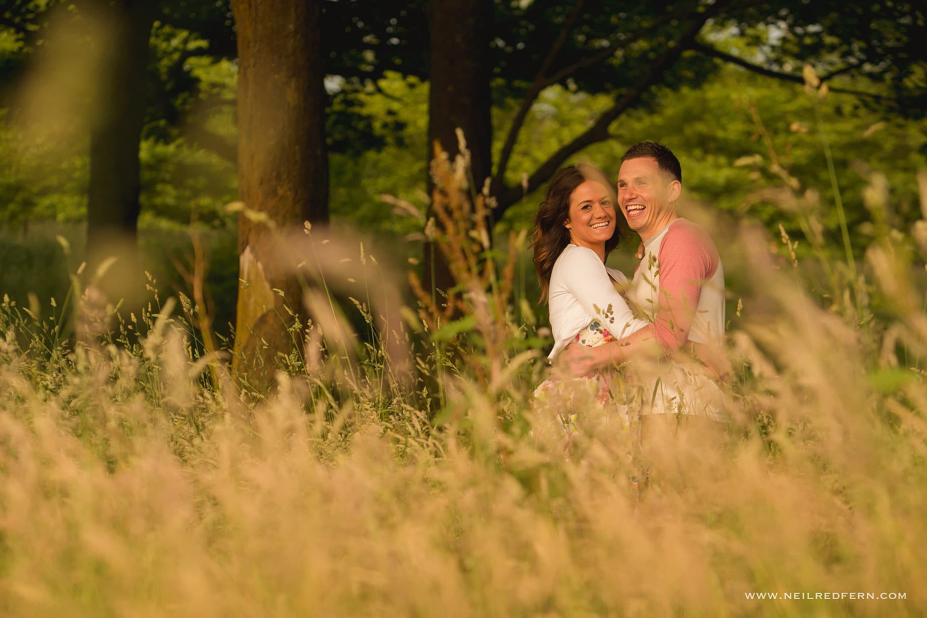 Rivington Hall Barn Engagement shoot 01