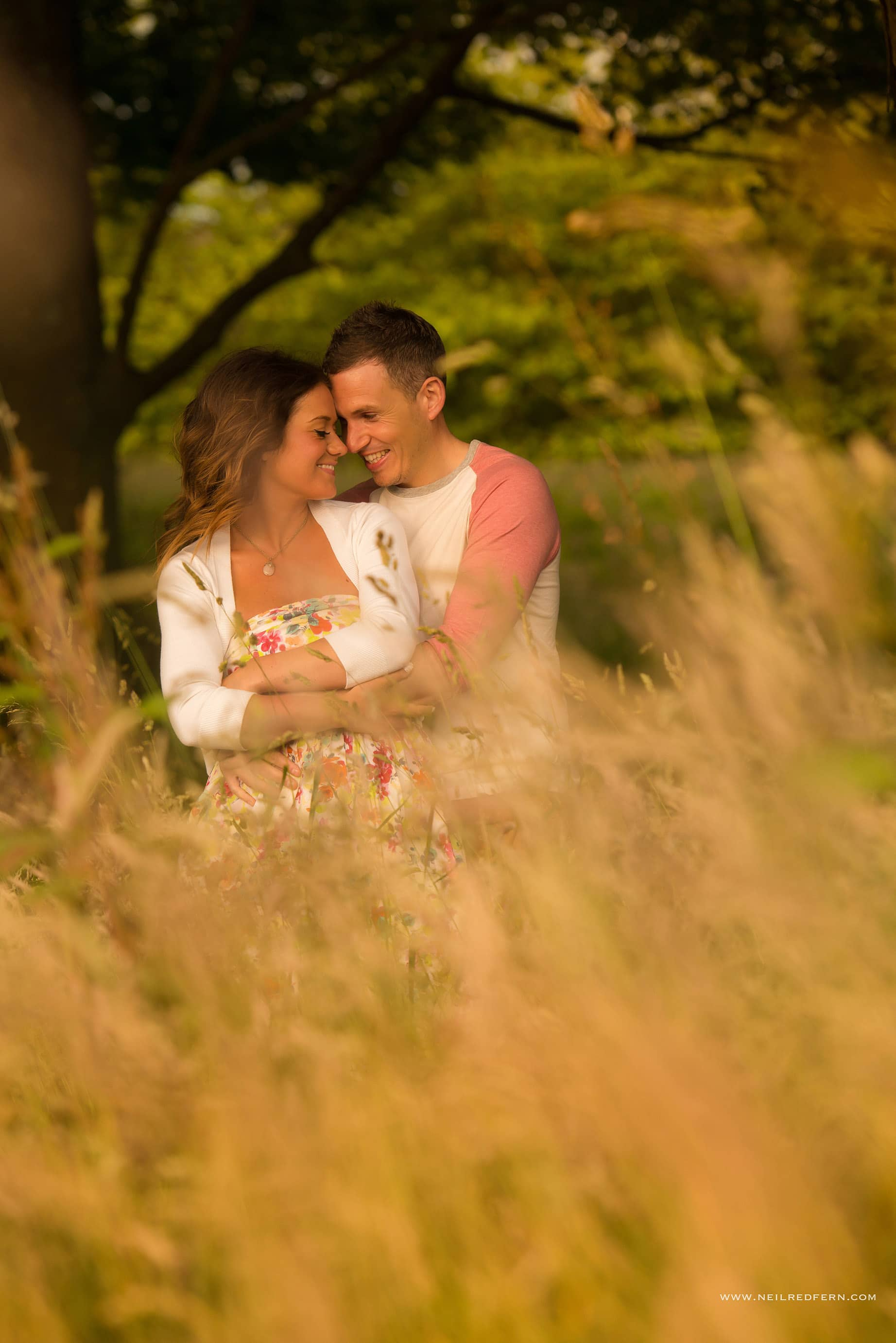 Rivington Hall Barn Engagement shoot 02
