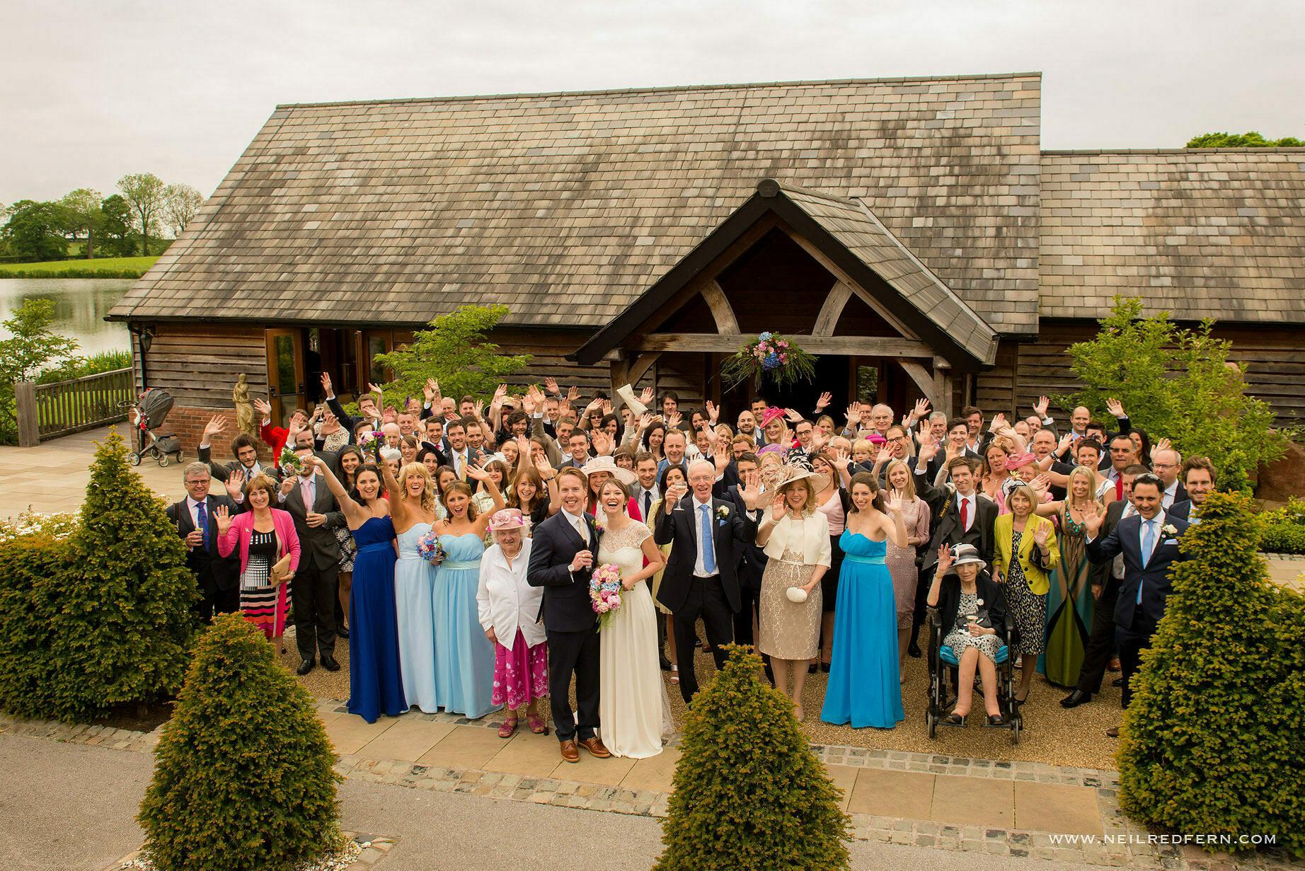 Sandhole Oak Barn wedding photographer 06