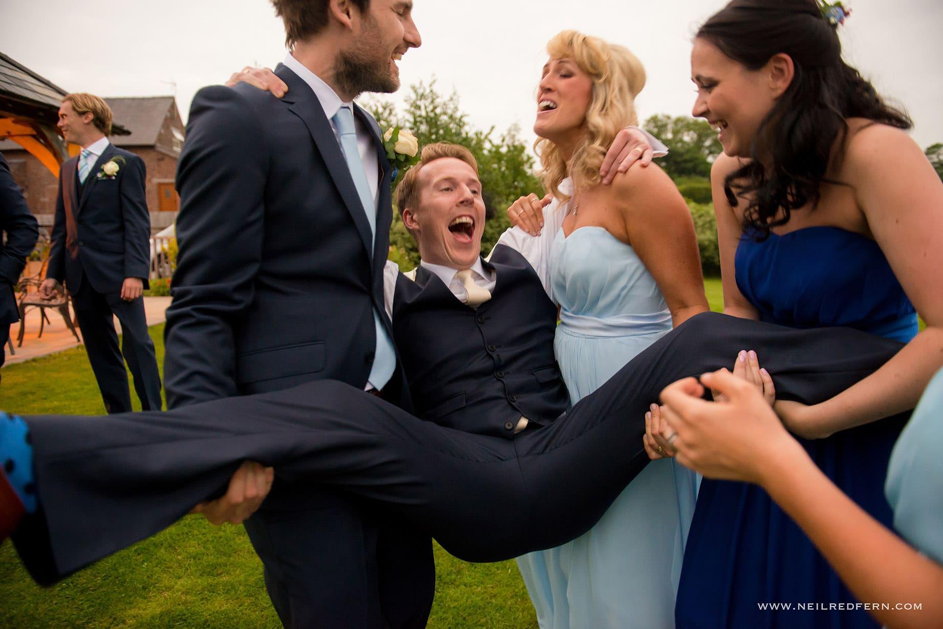 Sandhole Oak Barn wedding photographer 30