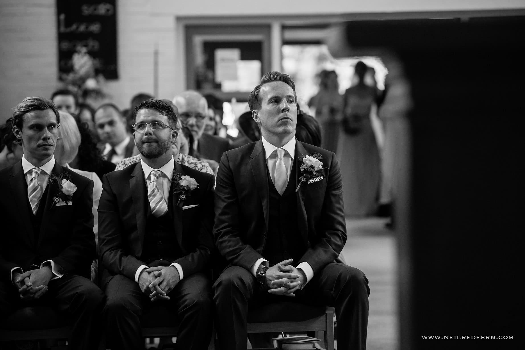 St Andrew's Church Cheadler wedding 02