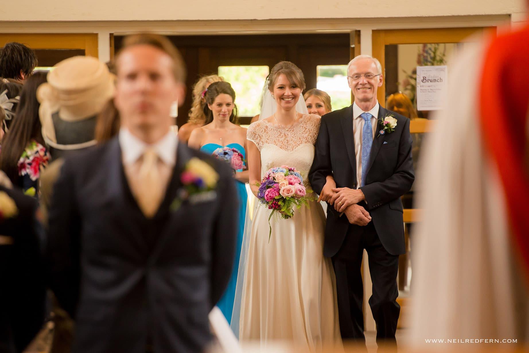 St Andrew's Church Cheadler wedding 03