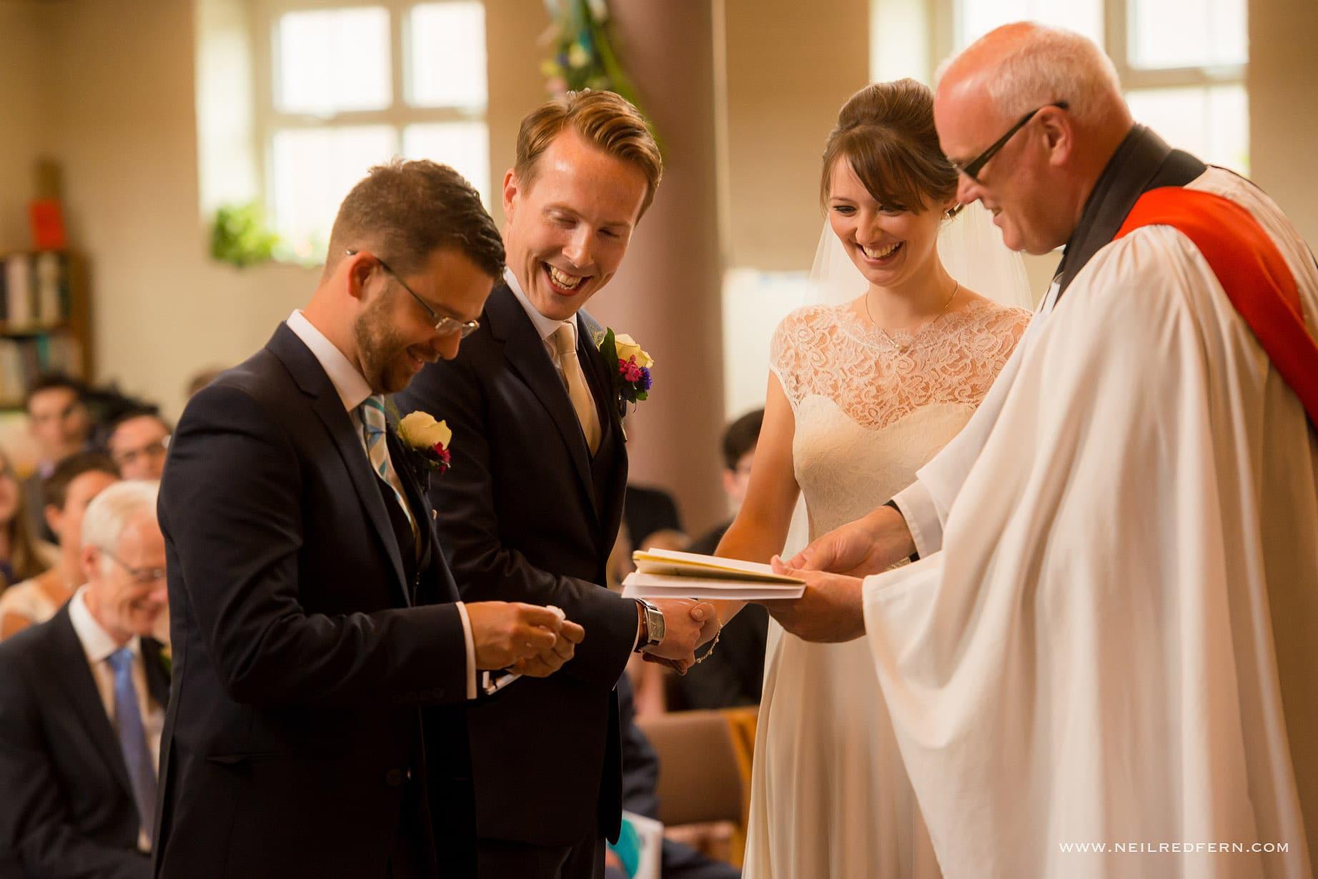 St Andrew's Church Cheadler wedding 09