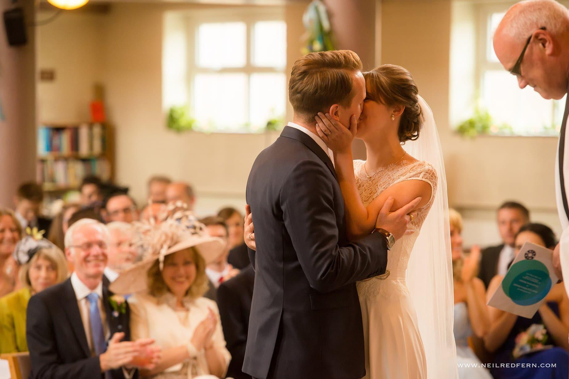 St Andrew's Church Cheadler wedding 10