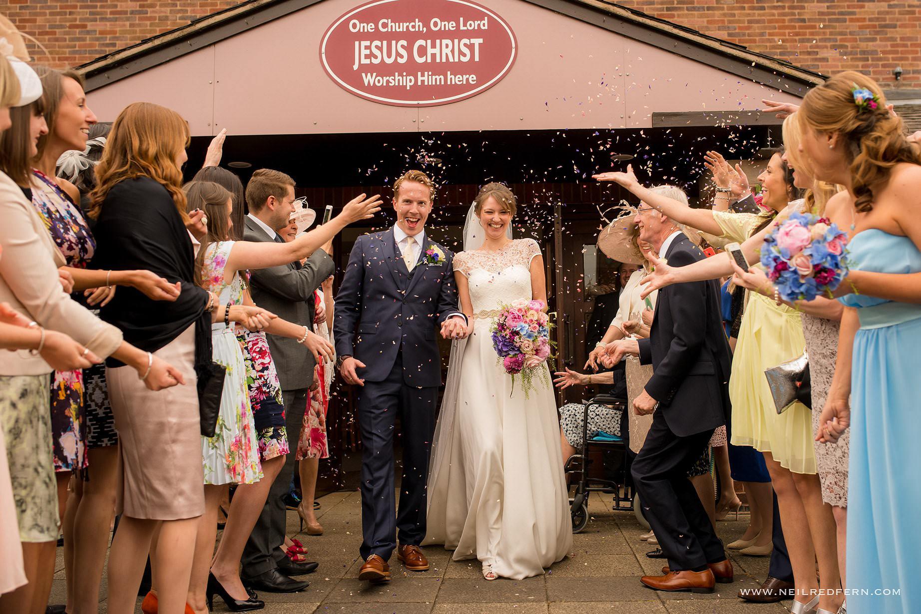 St Andrew's Church Cheadler wedding 15