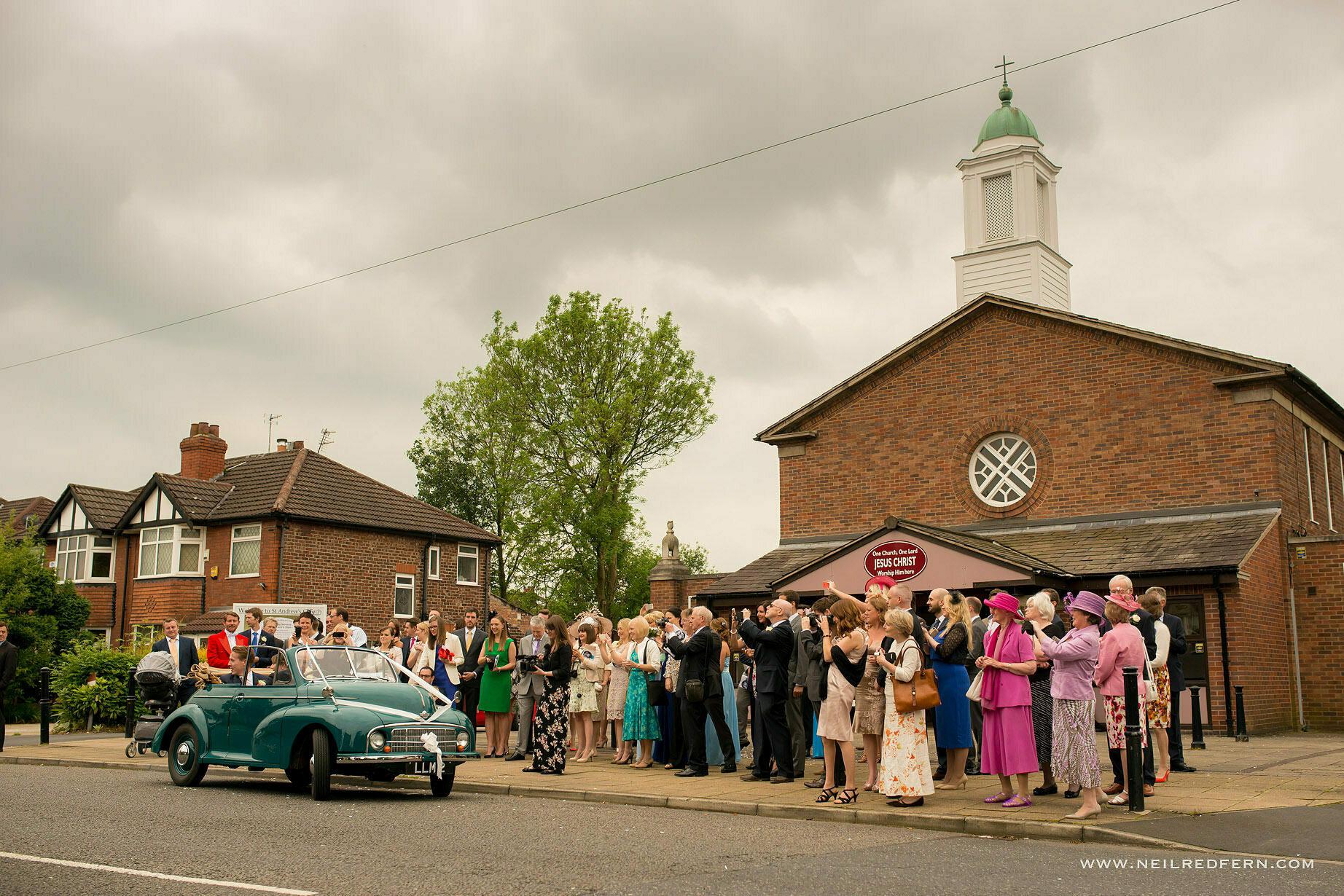 St Andrew's Church Cheadler wedding 17
