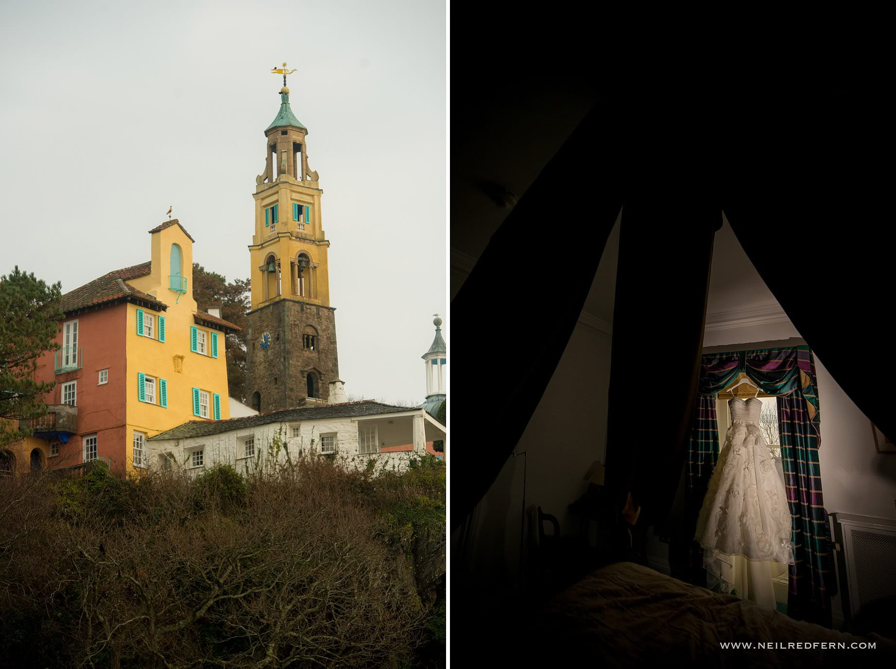 Wedding at Portmeirion 02