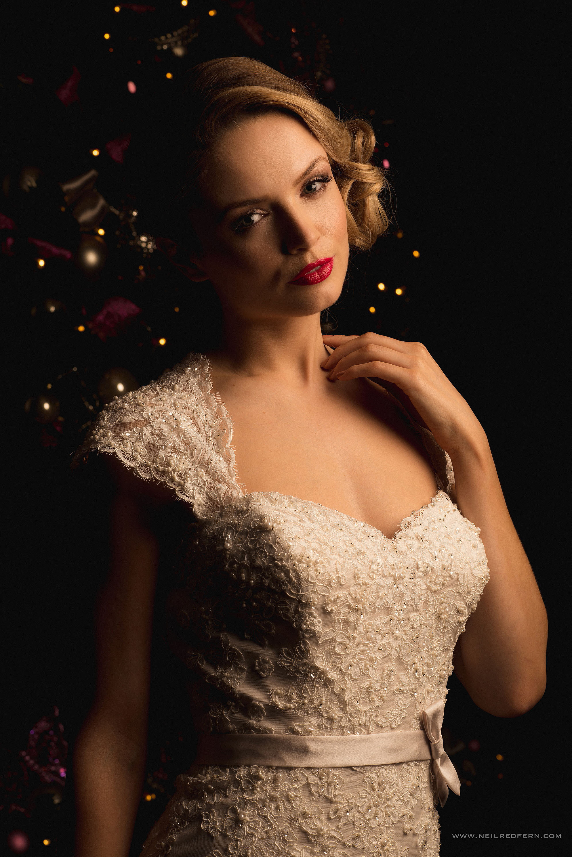 winter portrait photographs at Belle Epoque Knutsford 3