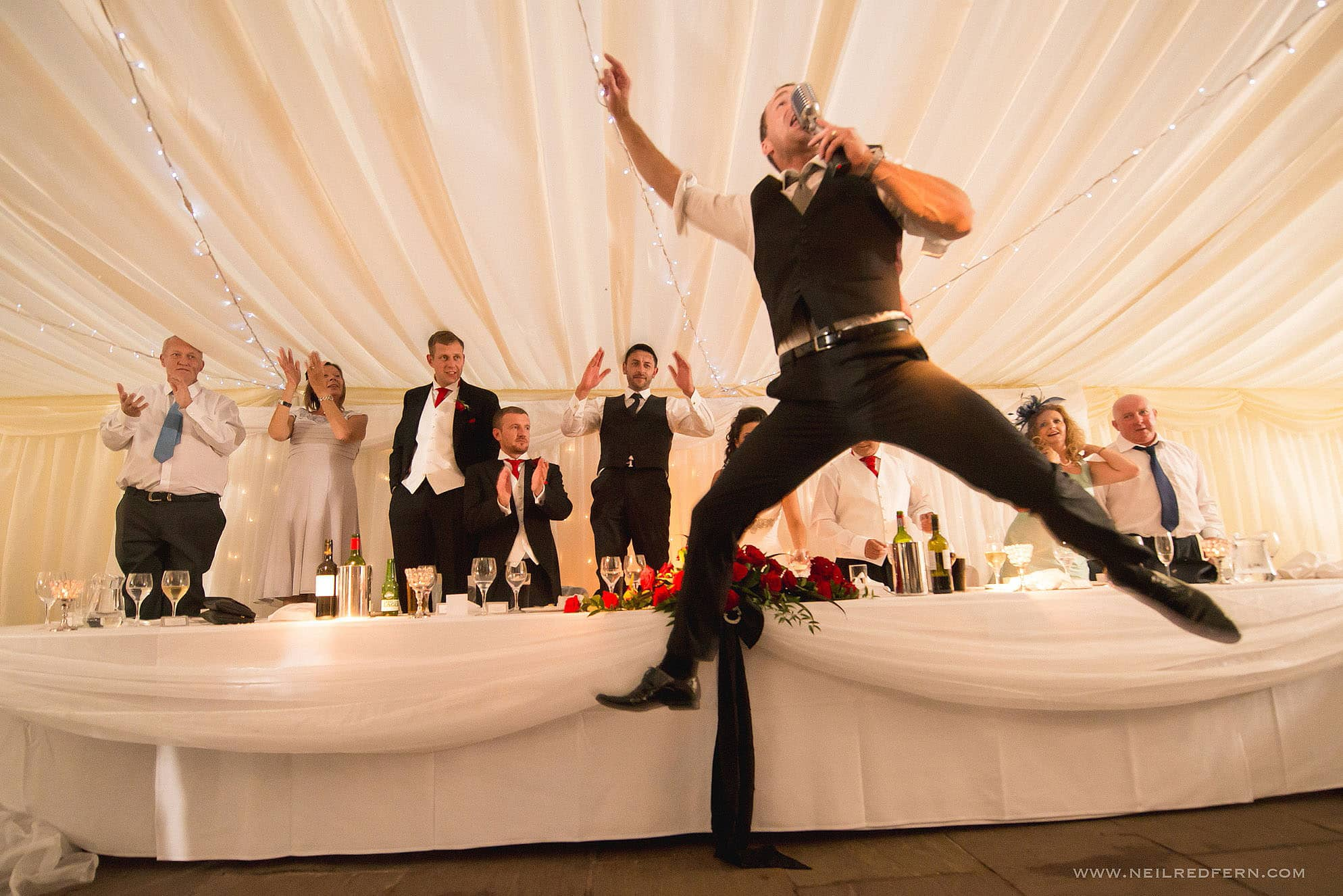 Inn at Whitewell marquee wedding