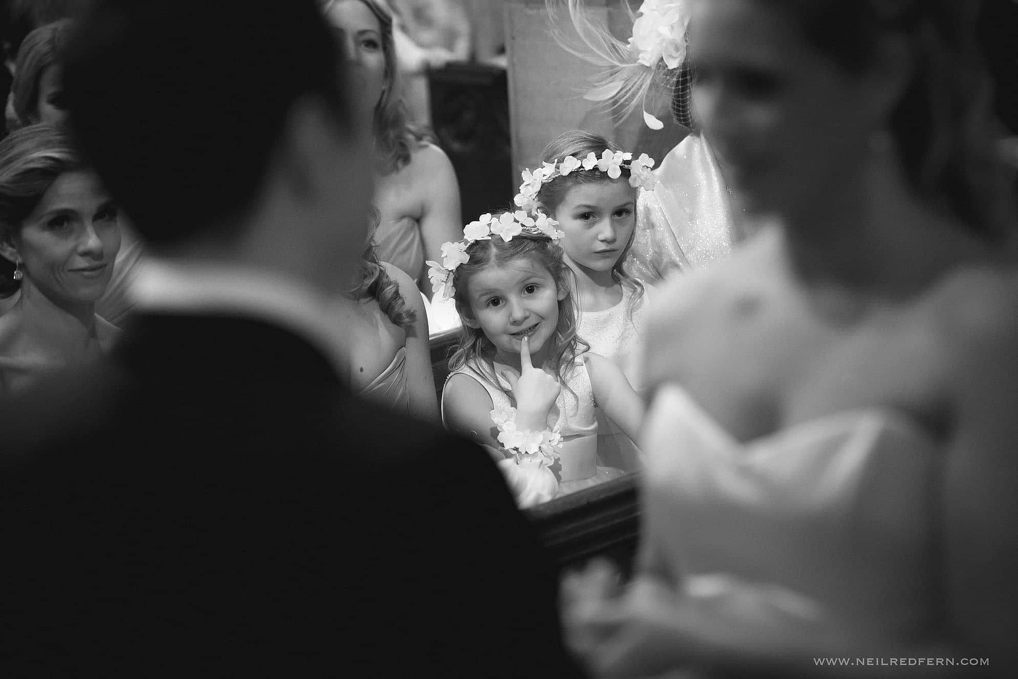 St Mary's Church Nether Alderley wedding 04