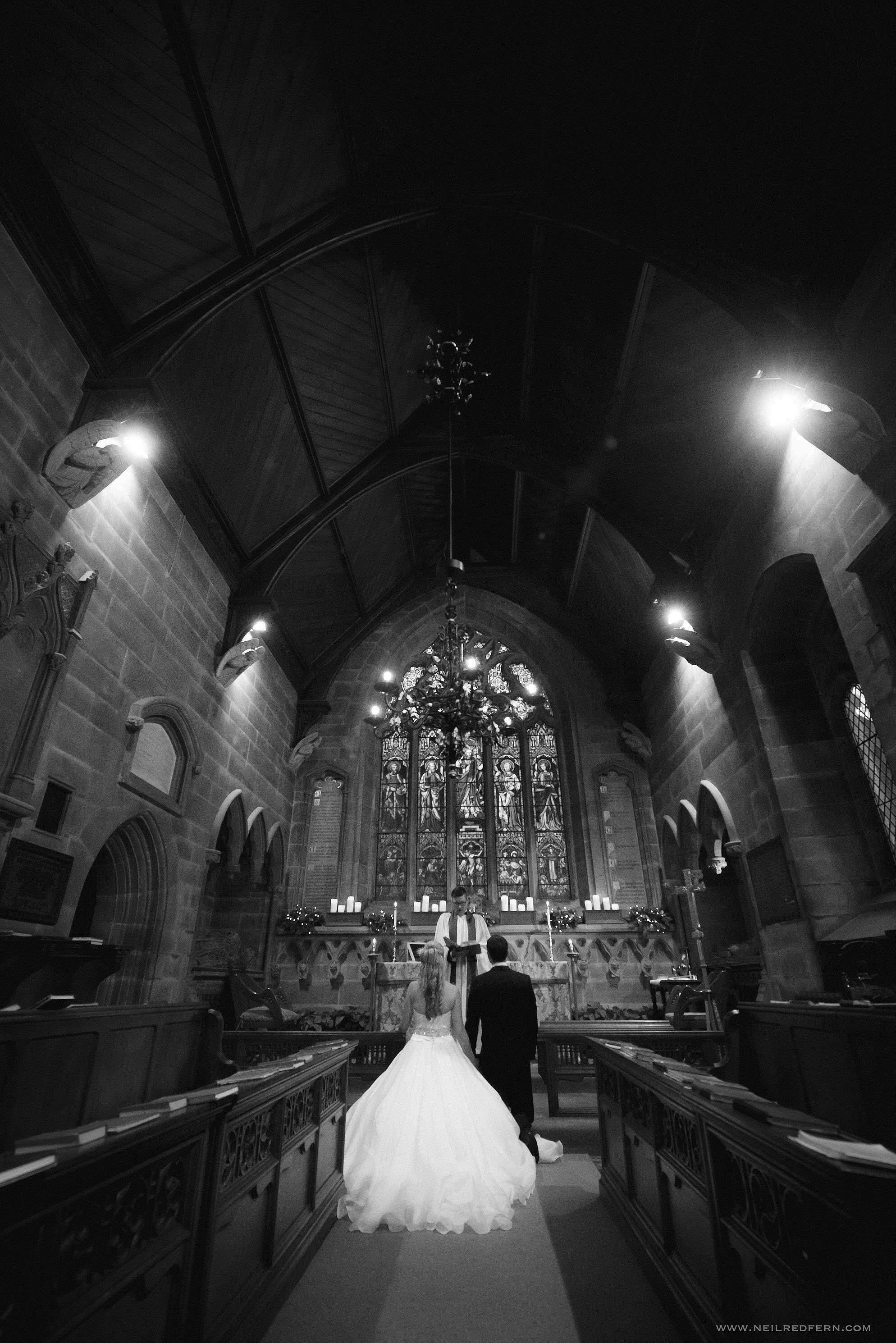 St Mary's Church Nether Alderley wedding 06