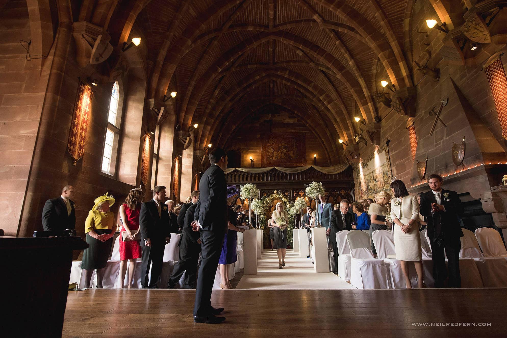 peckforton castle wedding photographer 11