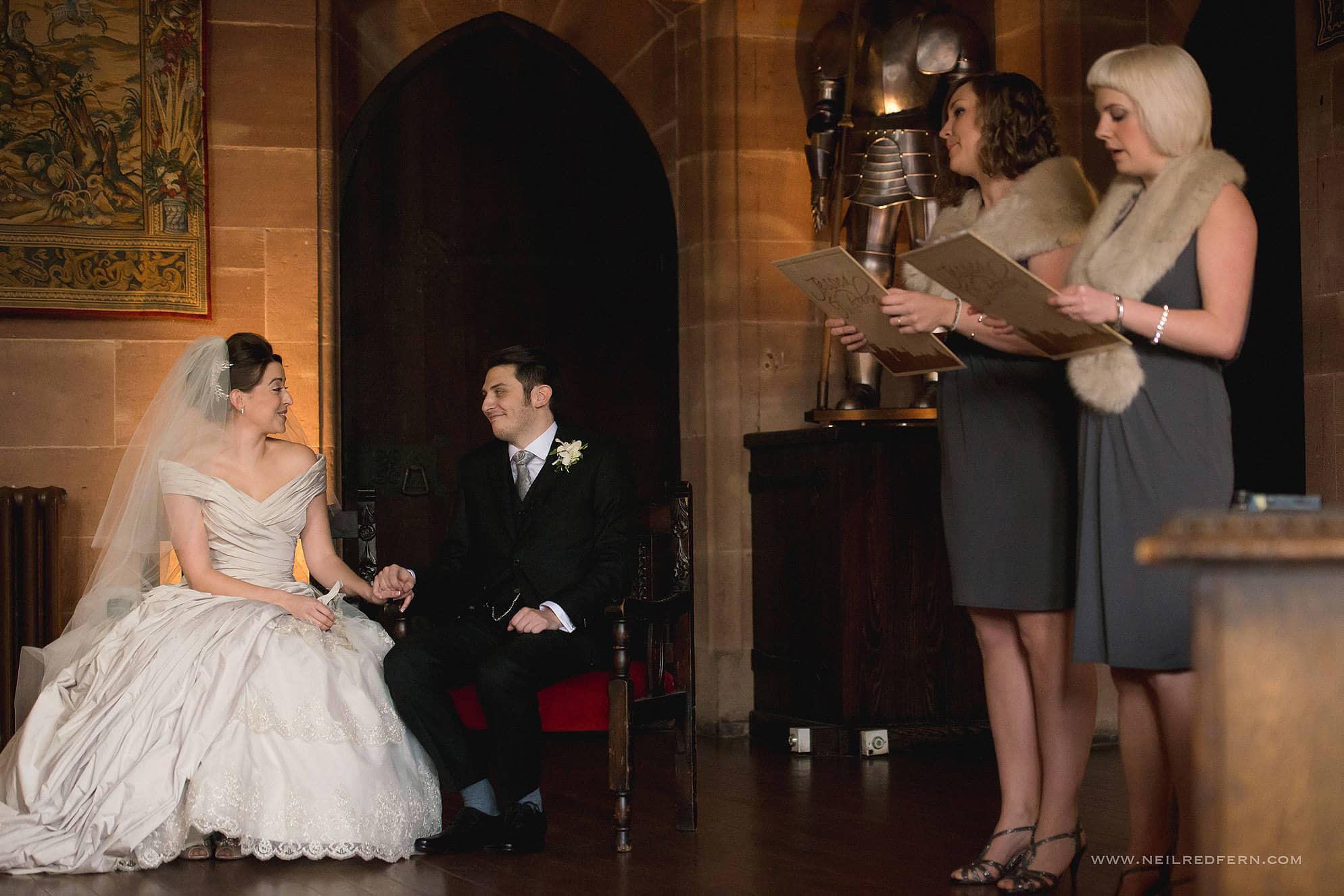 peckforton castle wedding photographer 14
