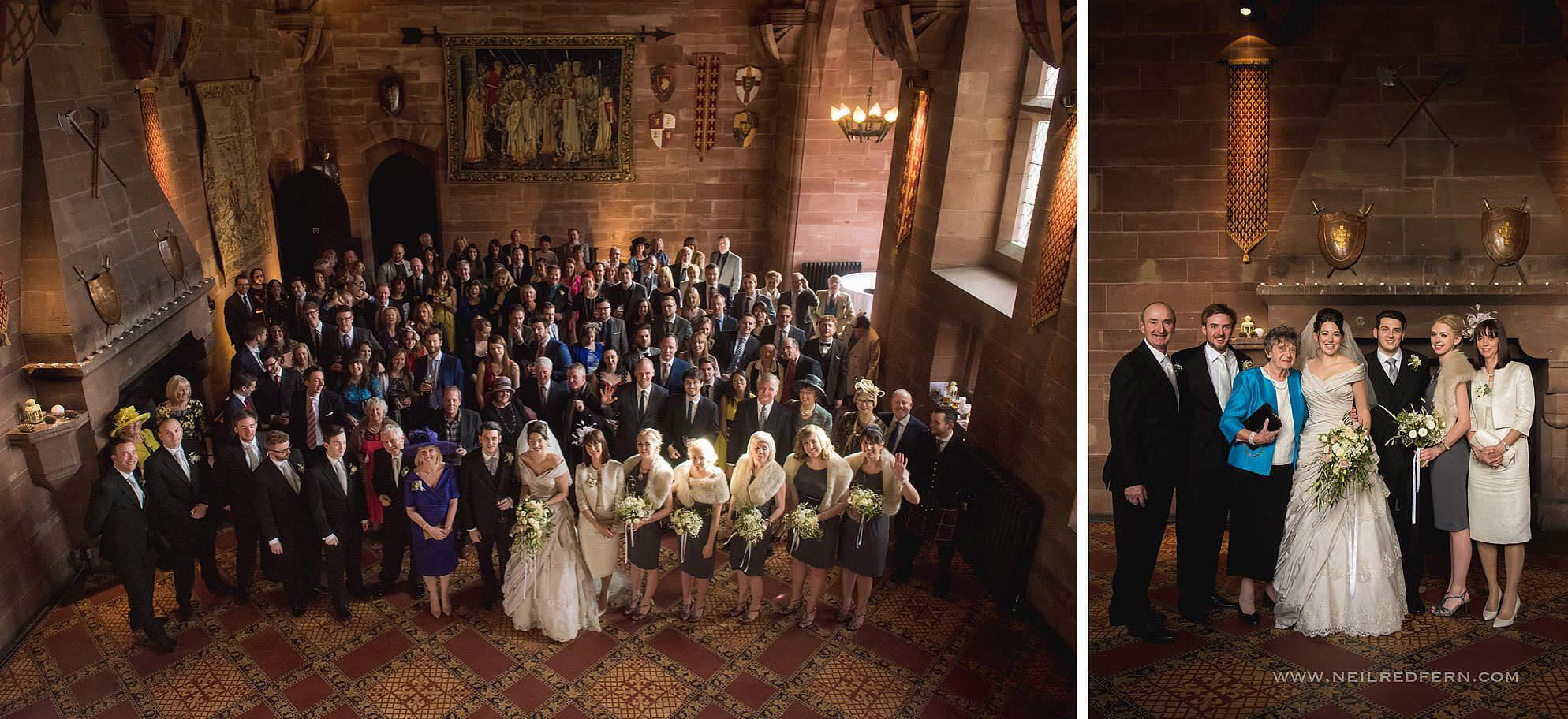 peckforton castle wedding photographer 23