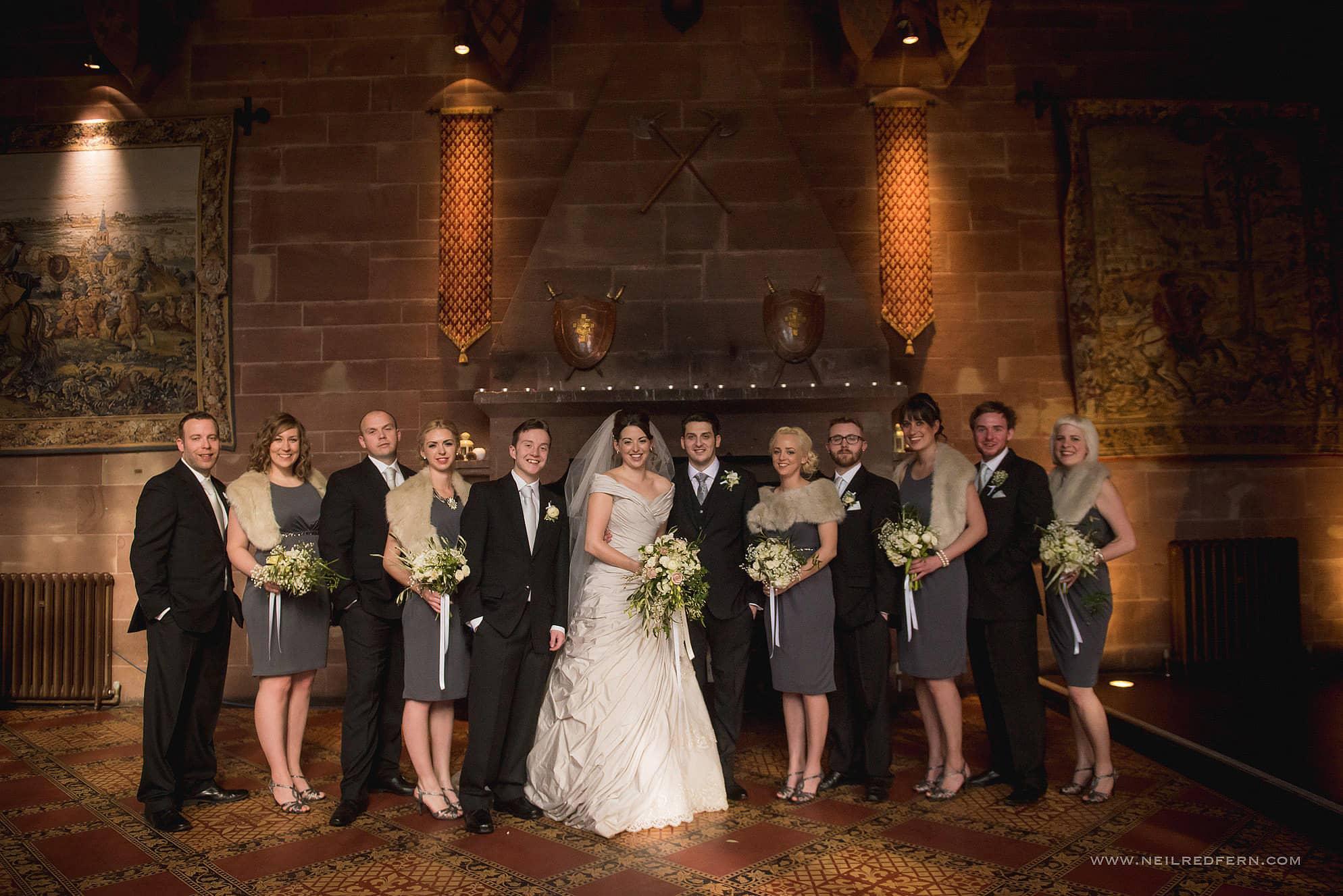 peckforton castle wedding photographer 25