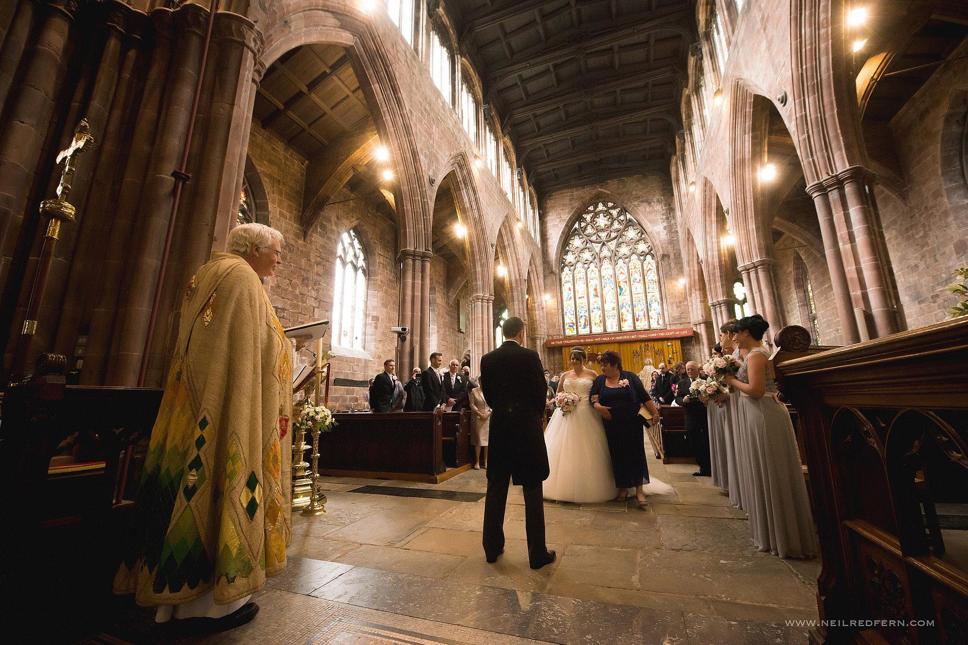 St Marys Church Nantwich wedding 02