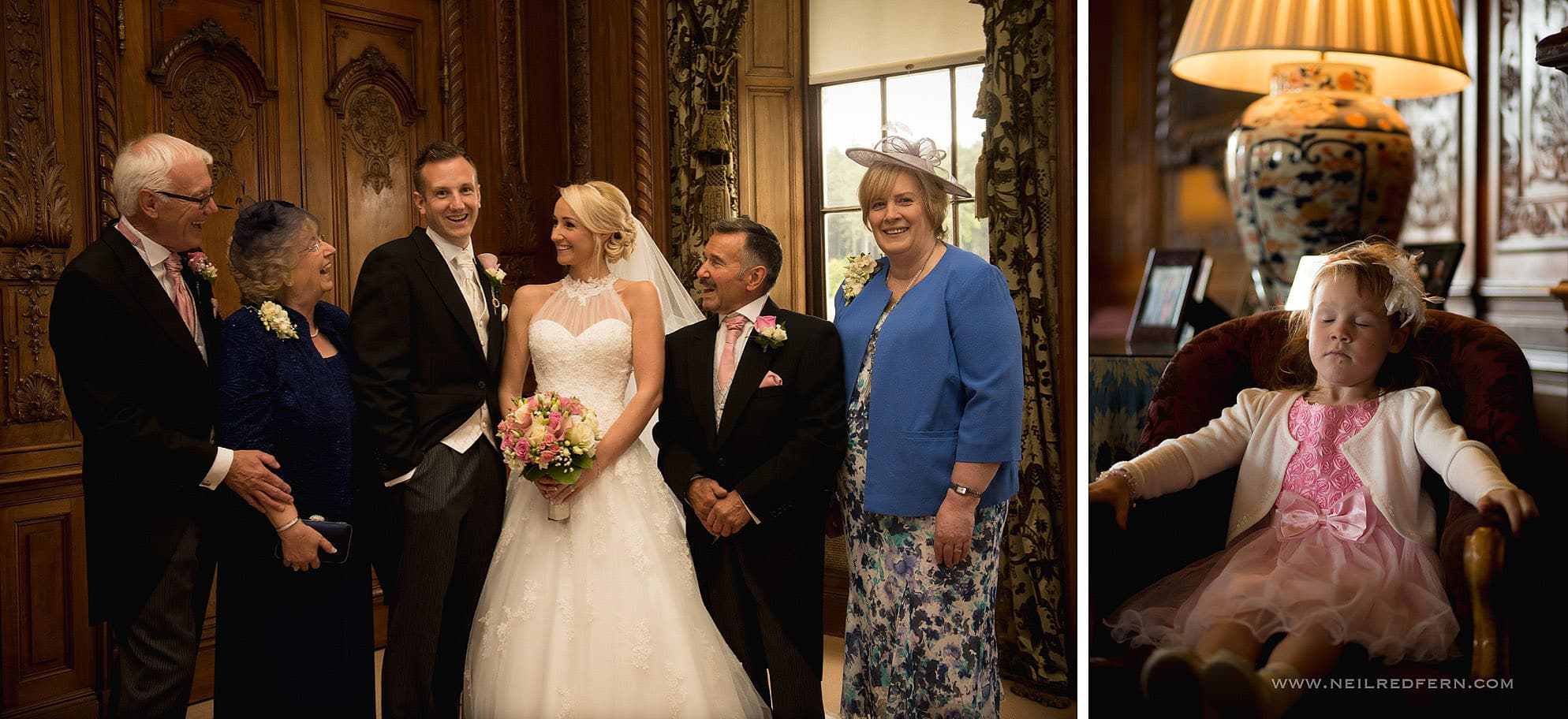 Knowsley Hall wedding photography 27