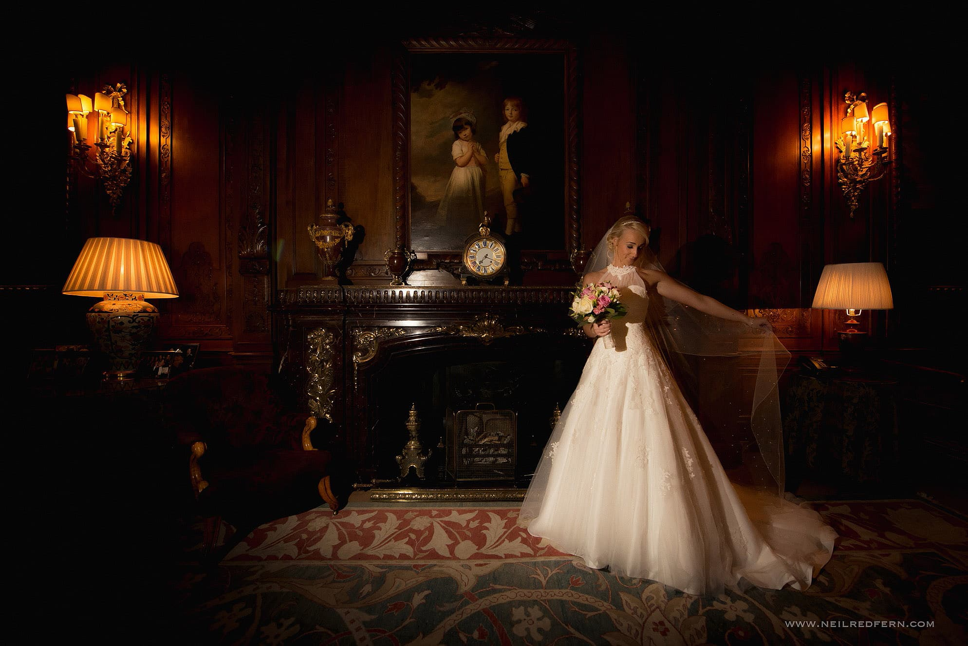 Knowsley Hall wedding photography 46