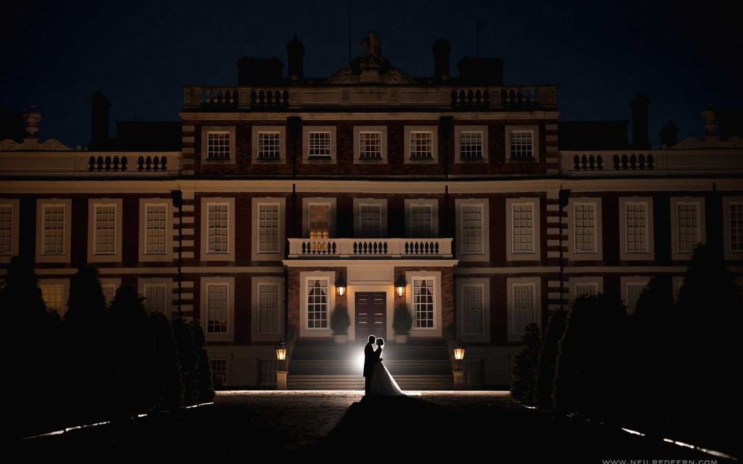 Knowsley Hall wedding photography – Michelle & David