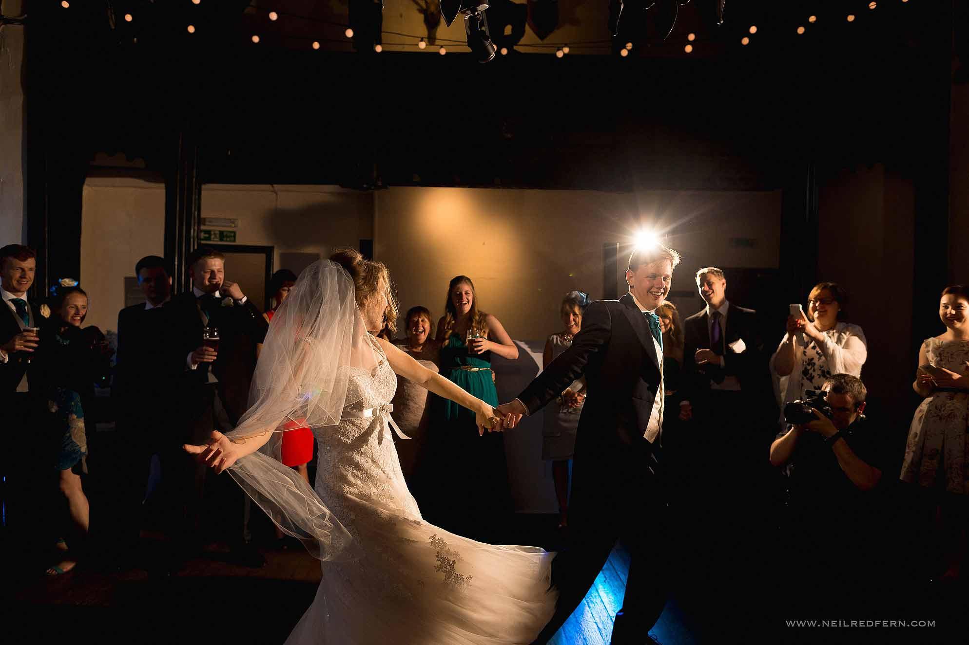 first dance at Samlesbury Hall