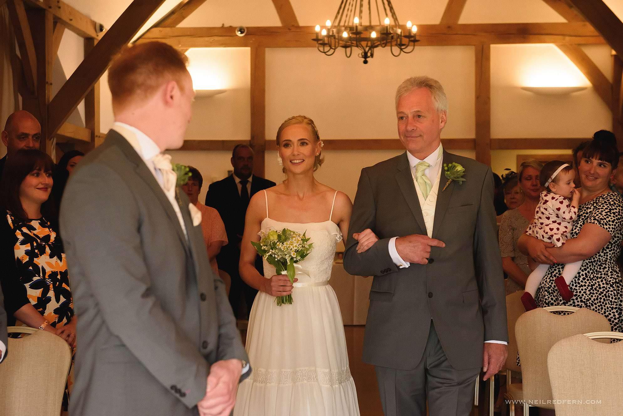 sandhole oak barn wedding photographer 13