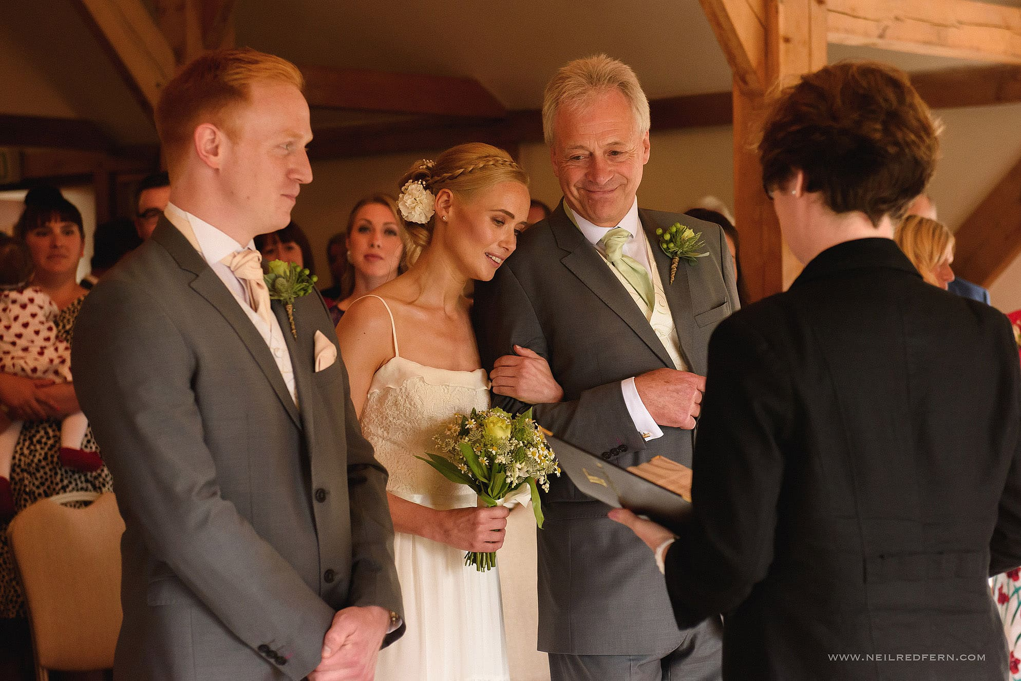 sandhole oak barn wedding photographer 14