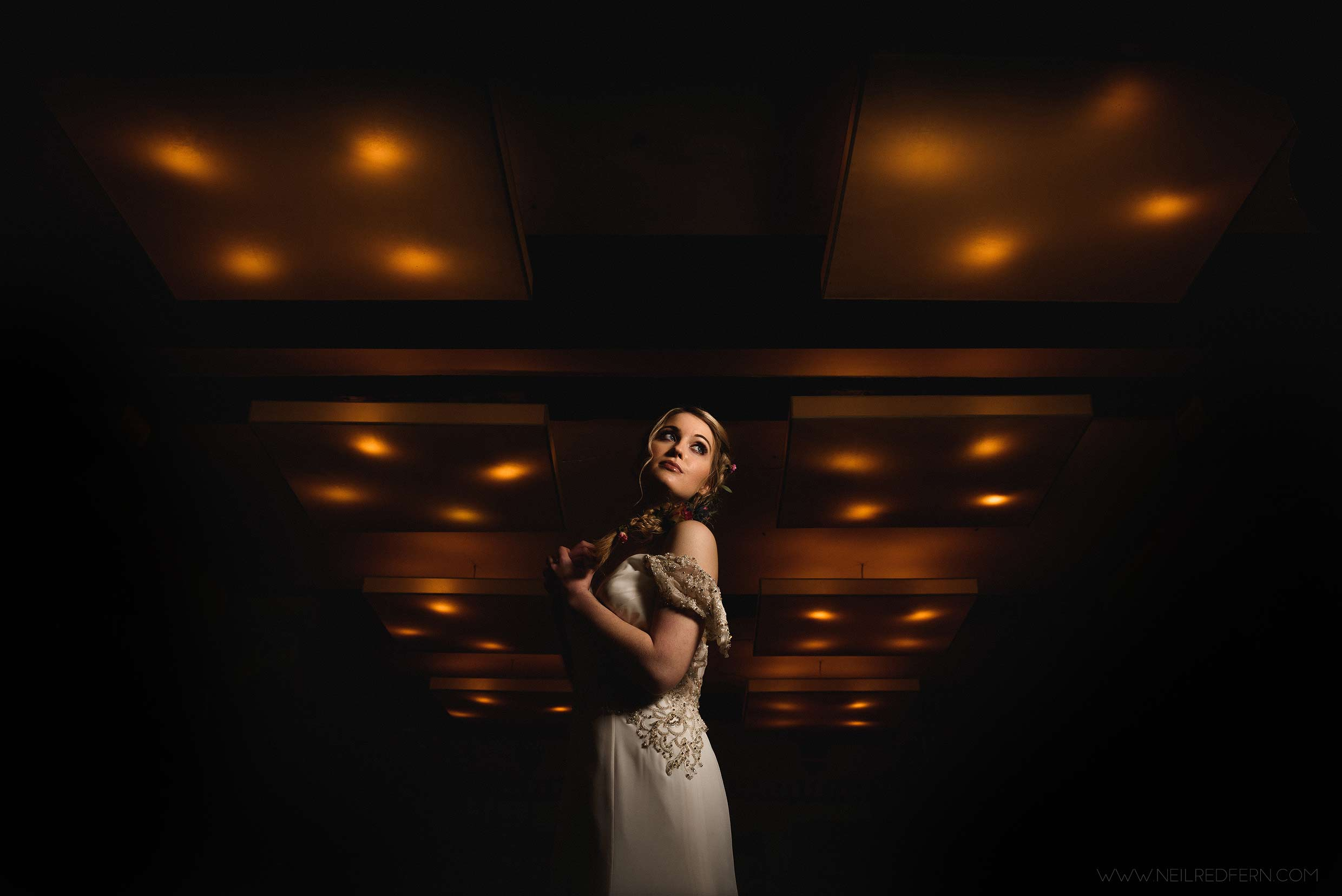 photograph taken at a wedding photography course in the north west