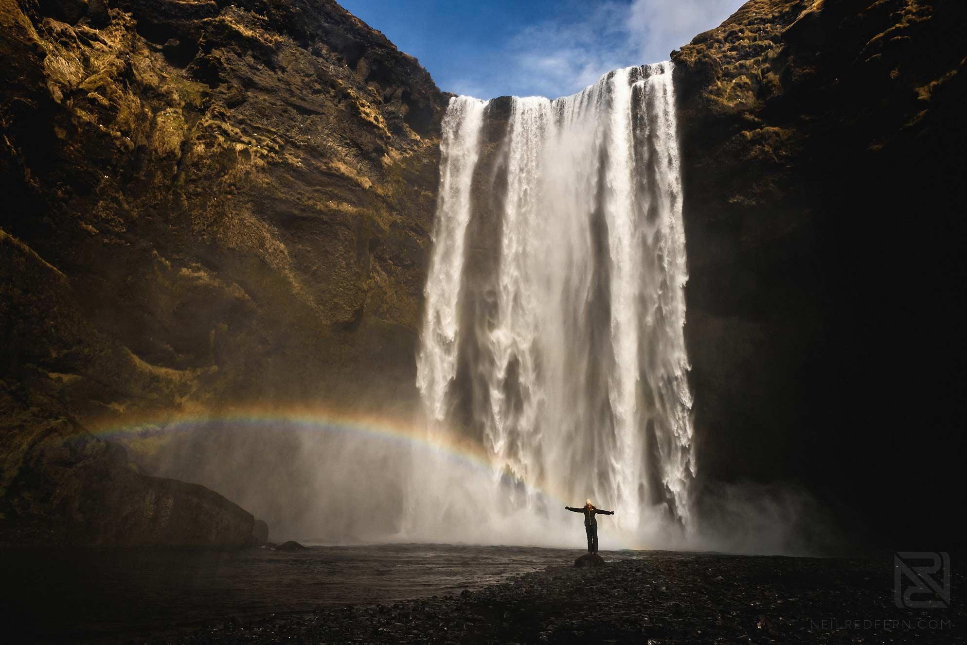 17-Skogafoss-waterall-rainbow