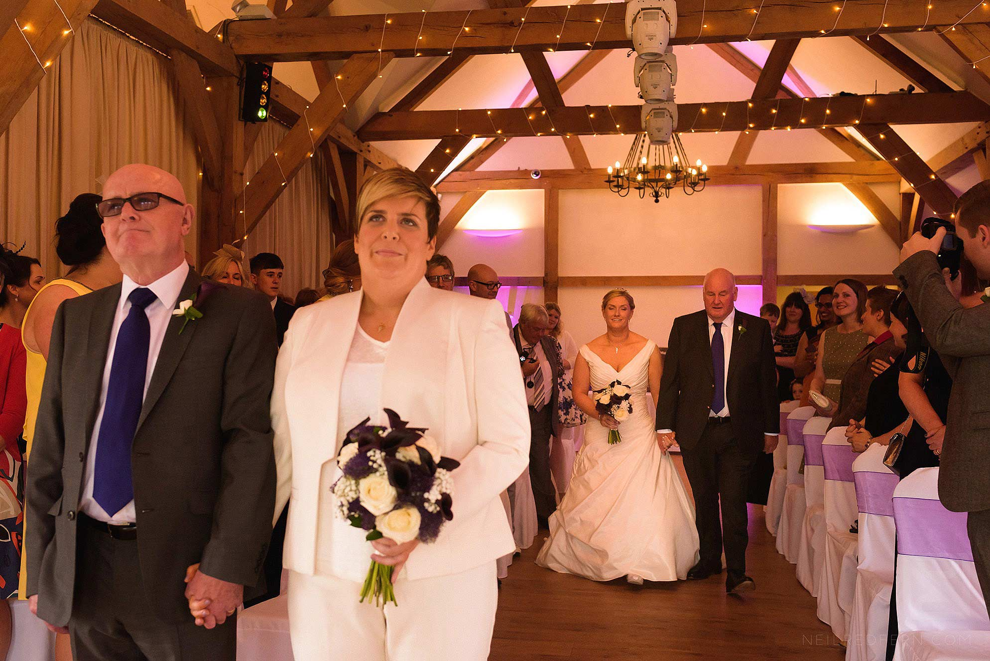 same-sex-wedding-at-Sandhole-Oak-Barn-09
