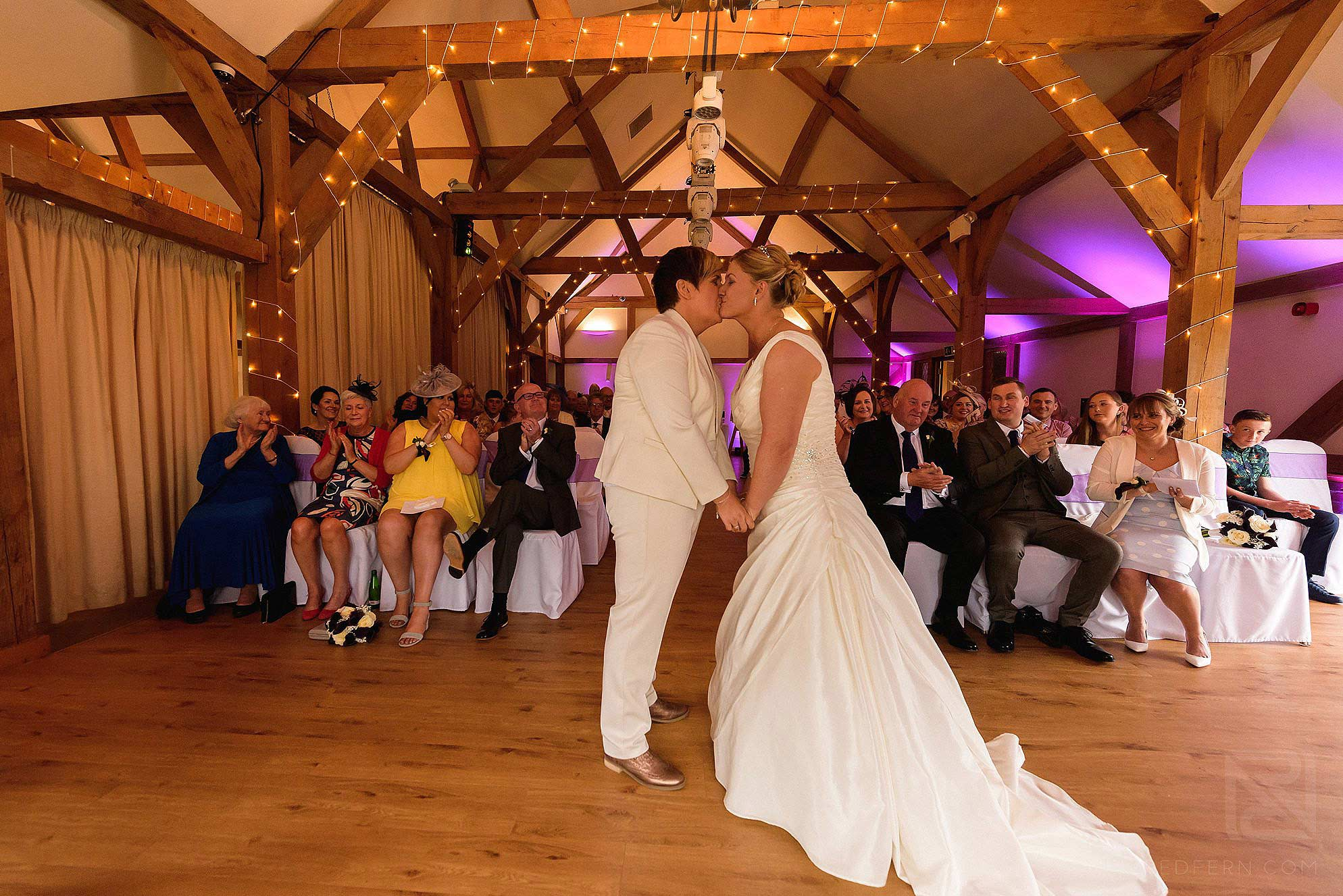 same-sex-wedding-at-Sandhole-Oak-Barn-13