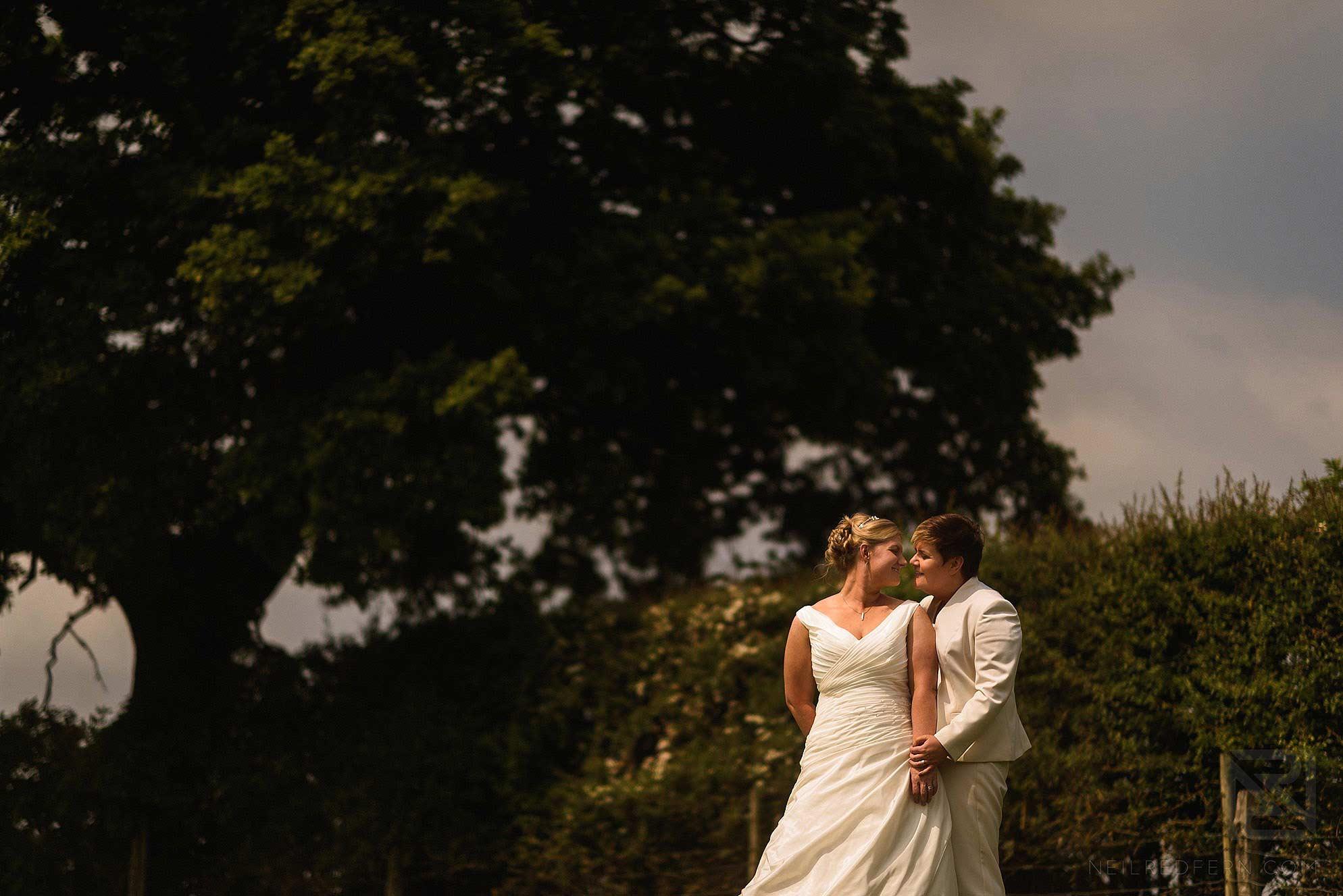 same-sex-wedding-at-Sandhole-Oak-Barn-20