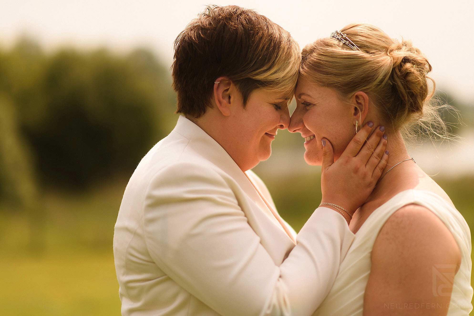 same-sex-wedding-at-Sandhole-Oak-Barn-21