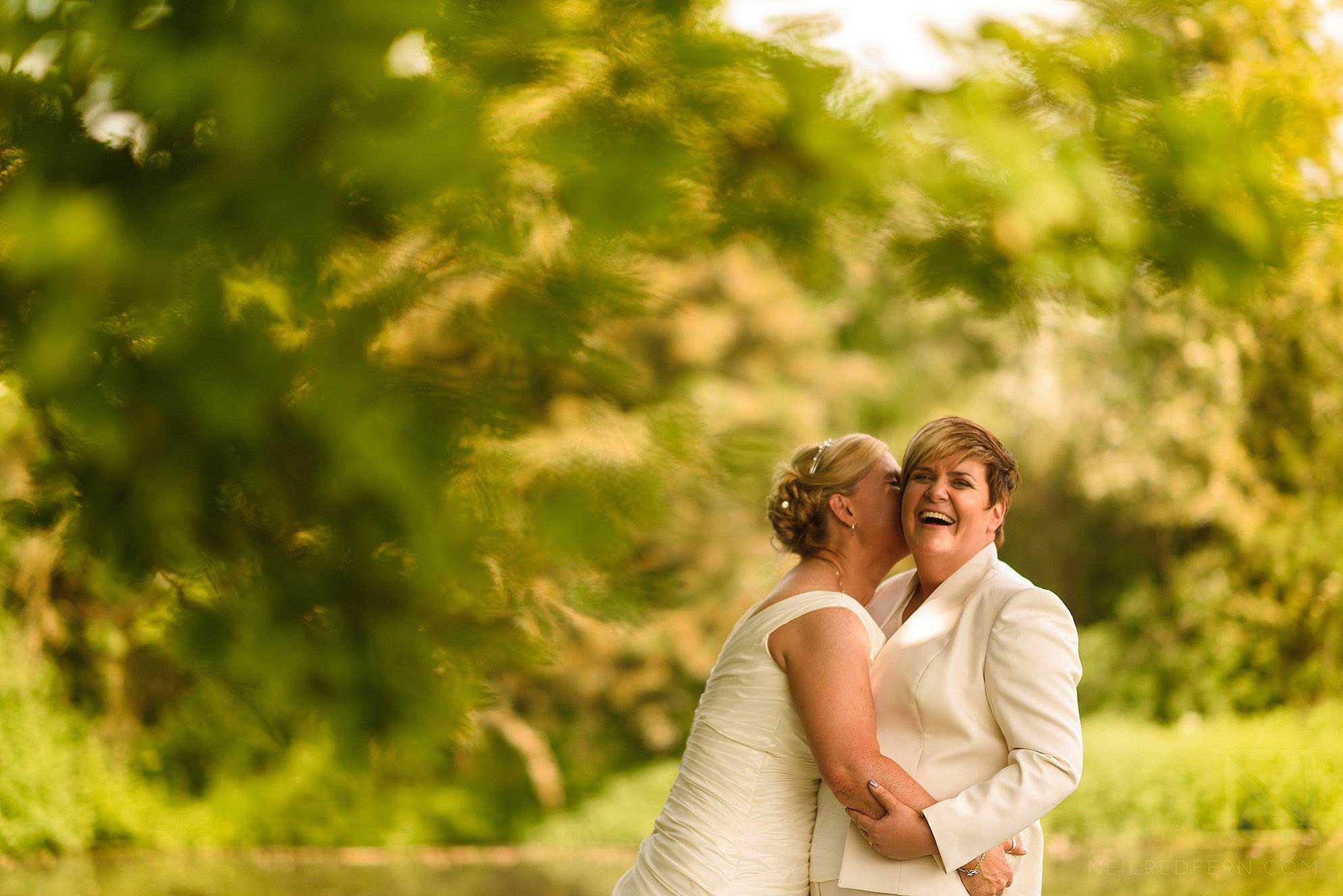 same sex wedding photograph