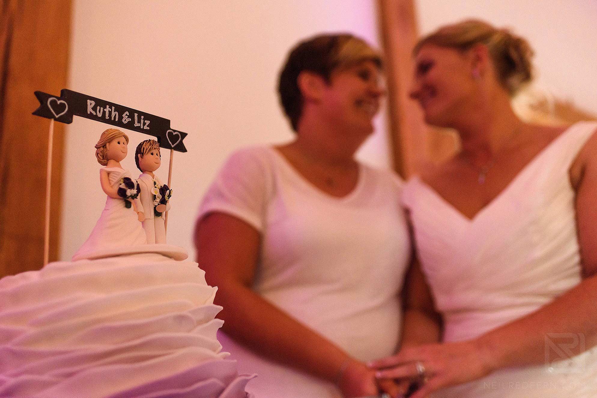 same-sex-wedding-at-Sandhole-Oak-Barn-28