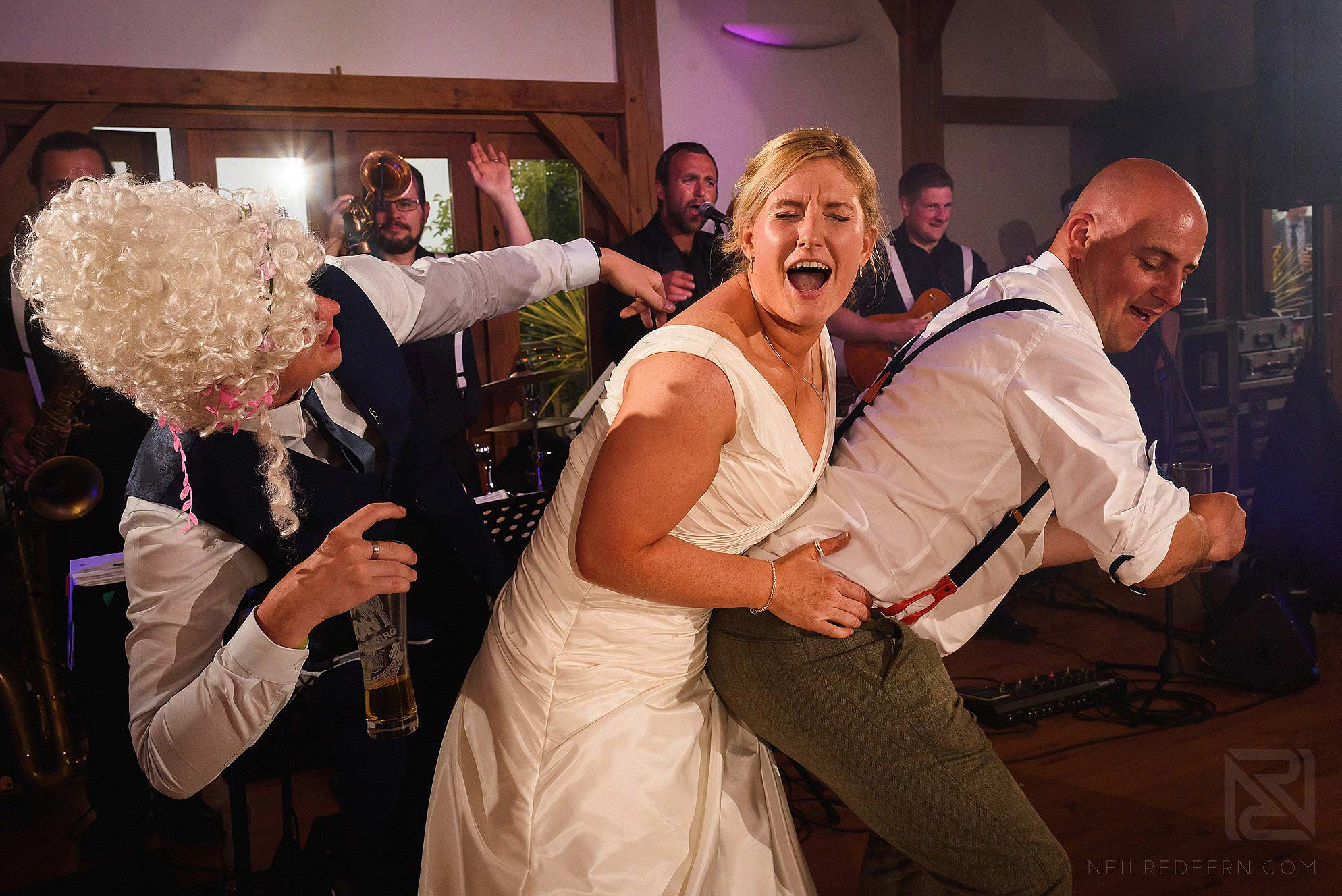 same-sex-wedding-at-Sandhole-Oak-Barn-41