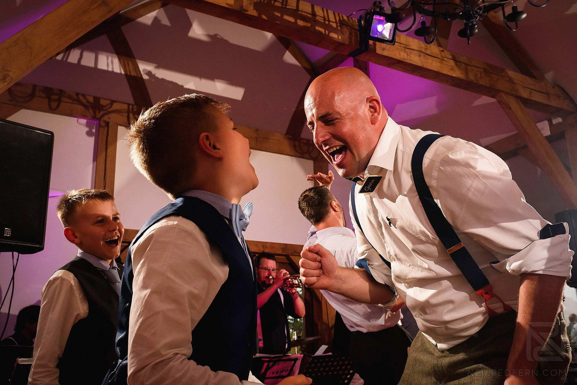 same-sex-wedding-at-Sandhole-Oak-Barn-43