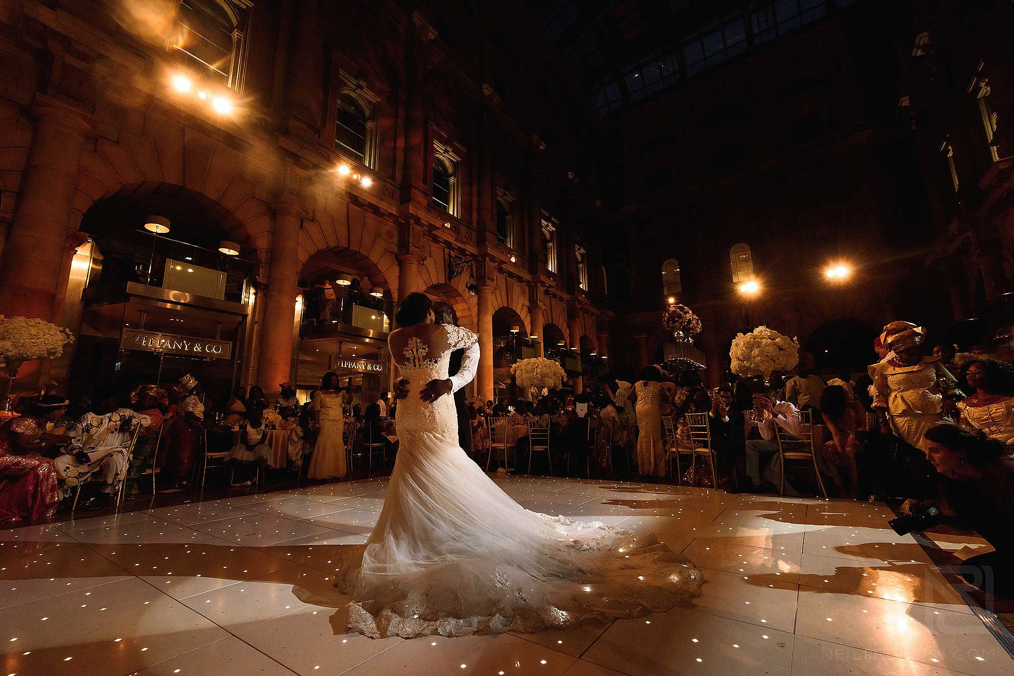 first dance at The Royal Exchange London