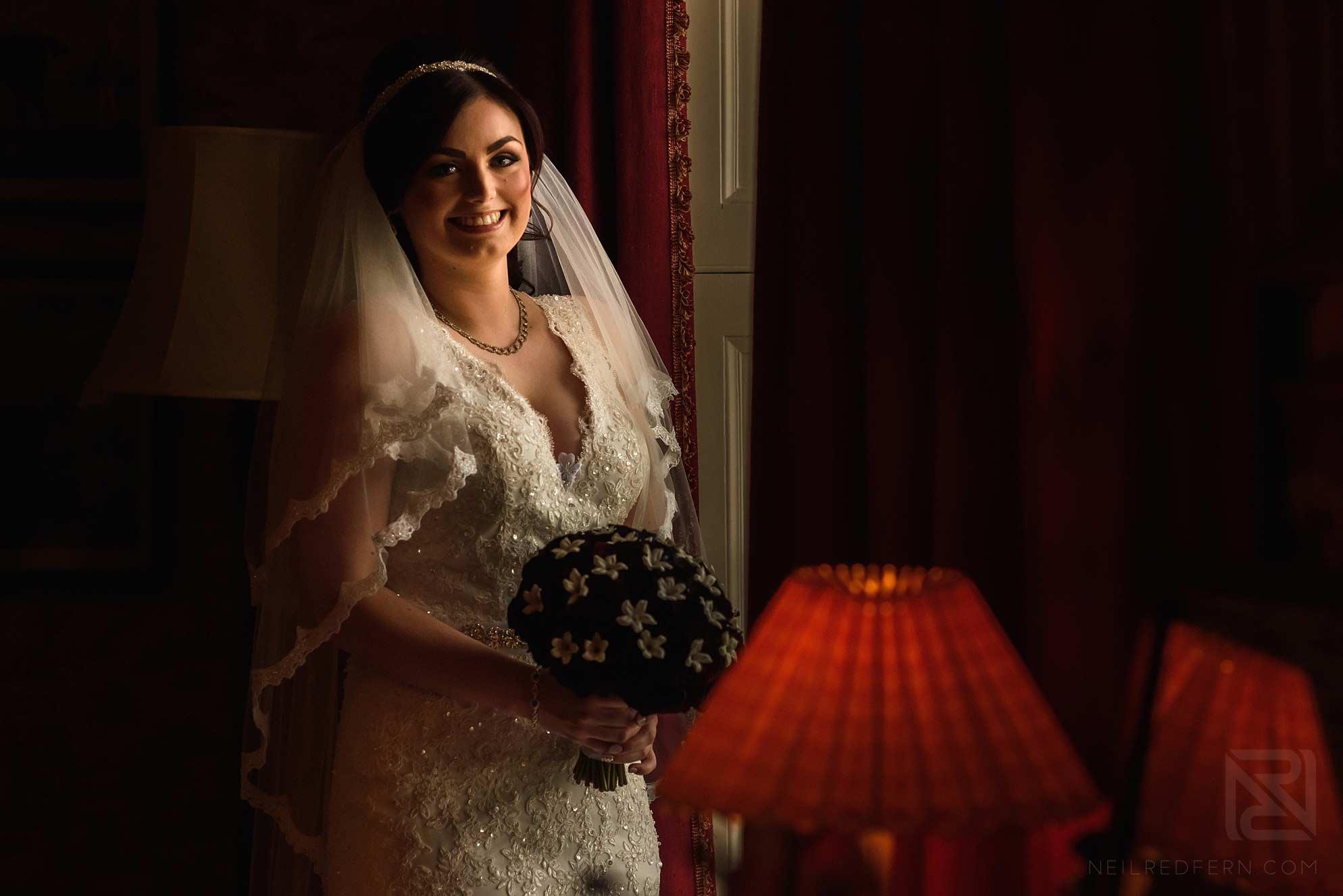 bride ready for wedding
