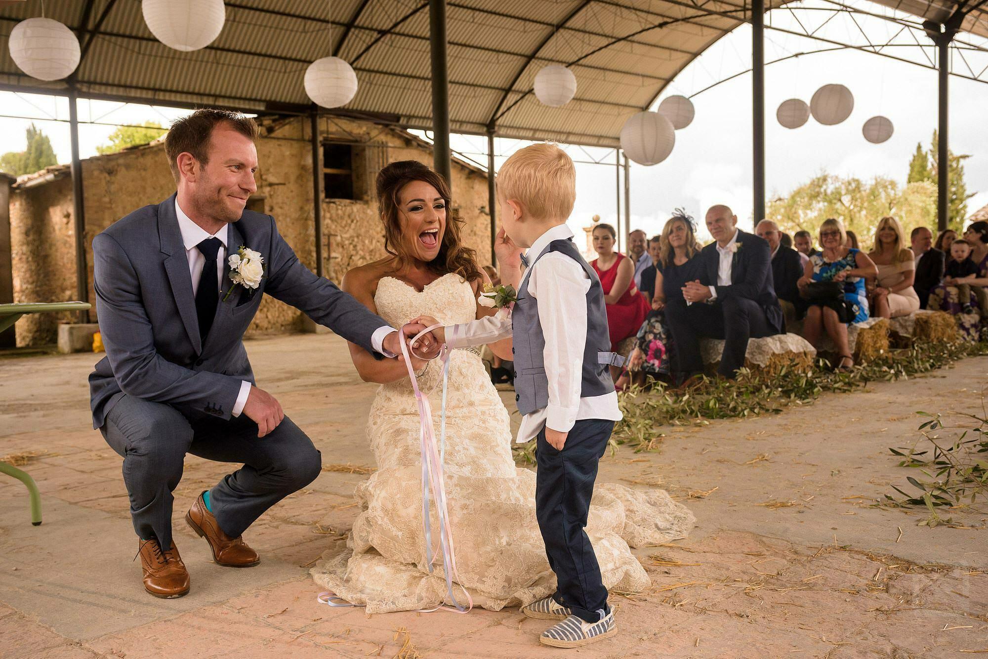 wedding ceremony photograph