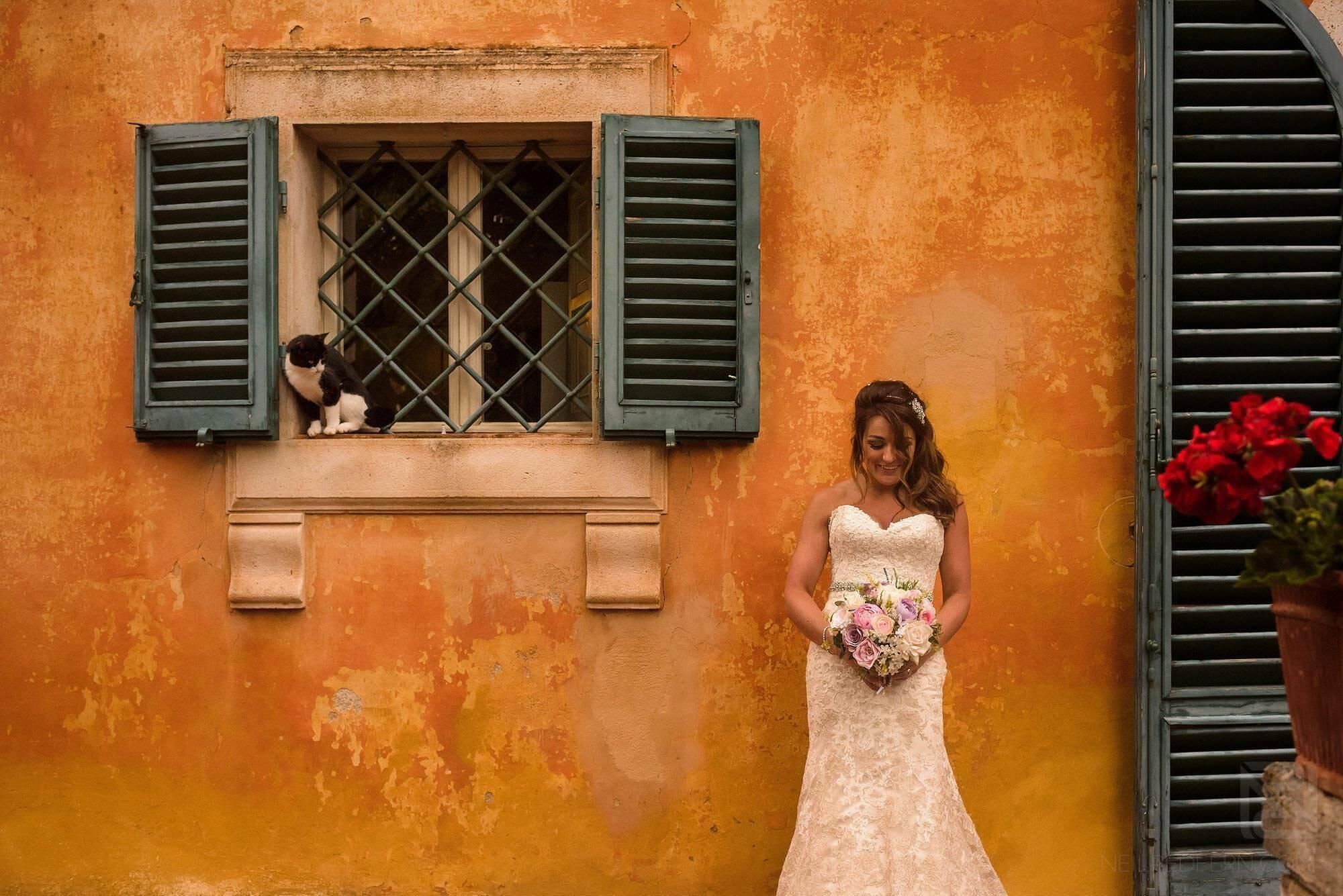 portrait photograph of bride