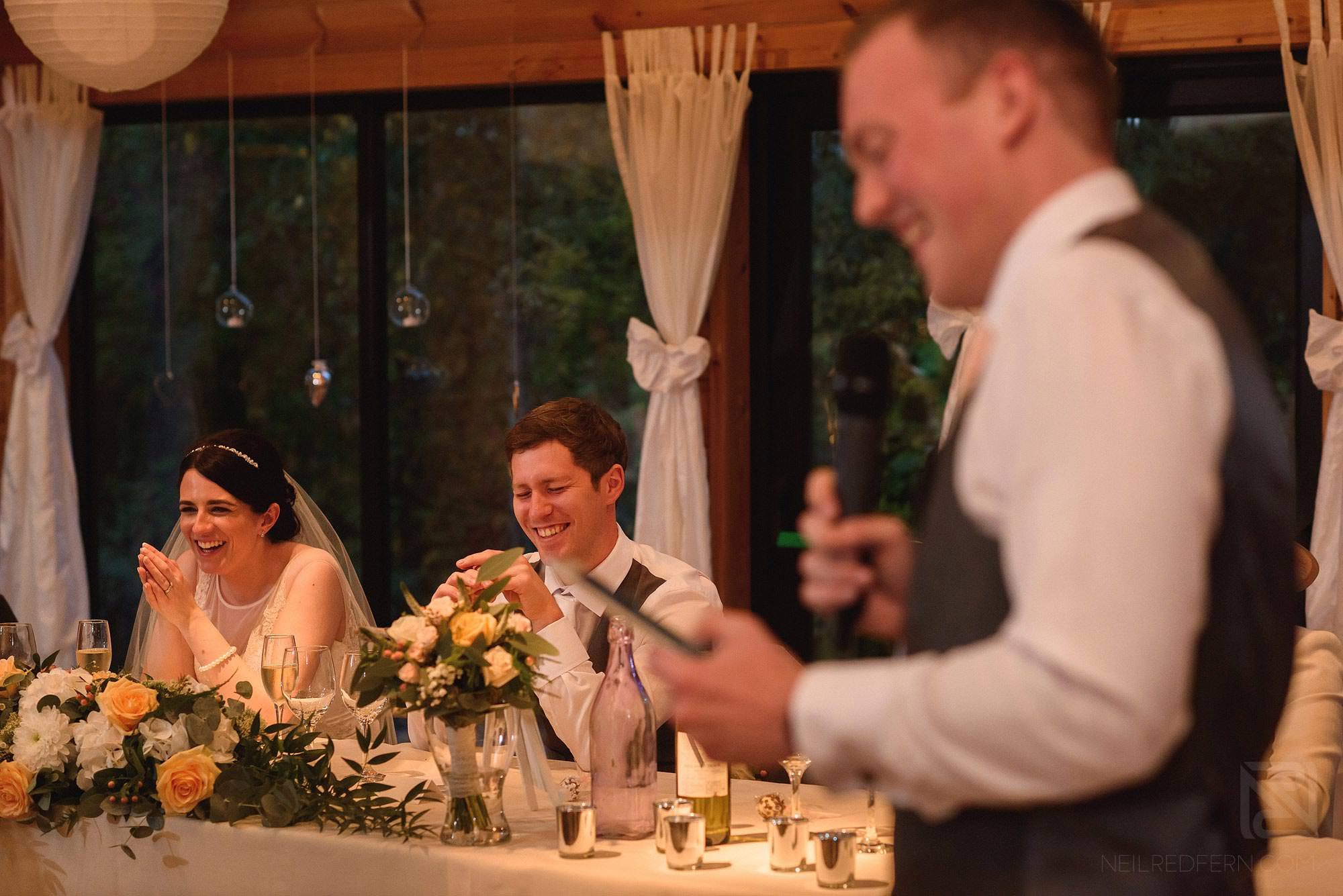 best man's wedding speech at Styal Lodge