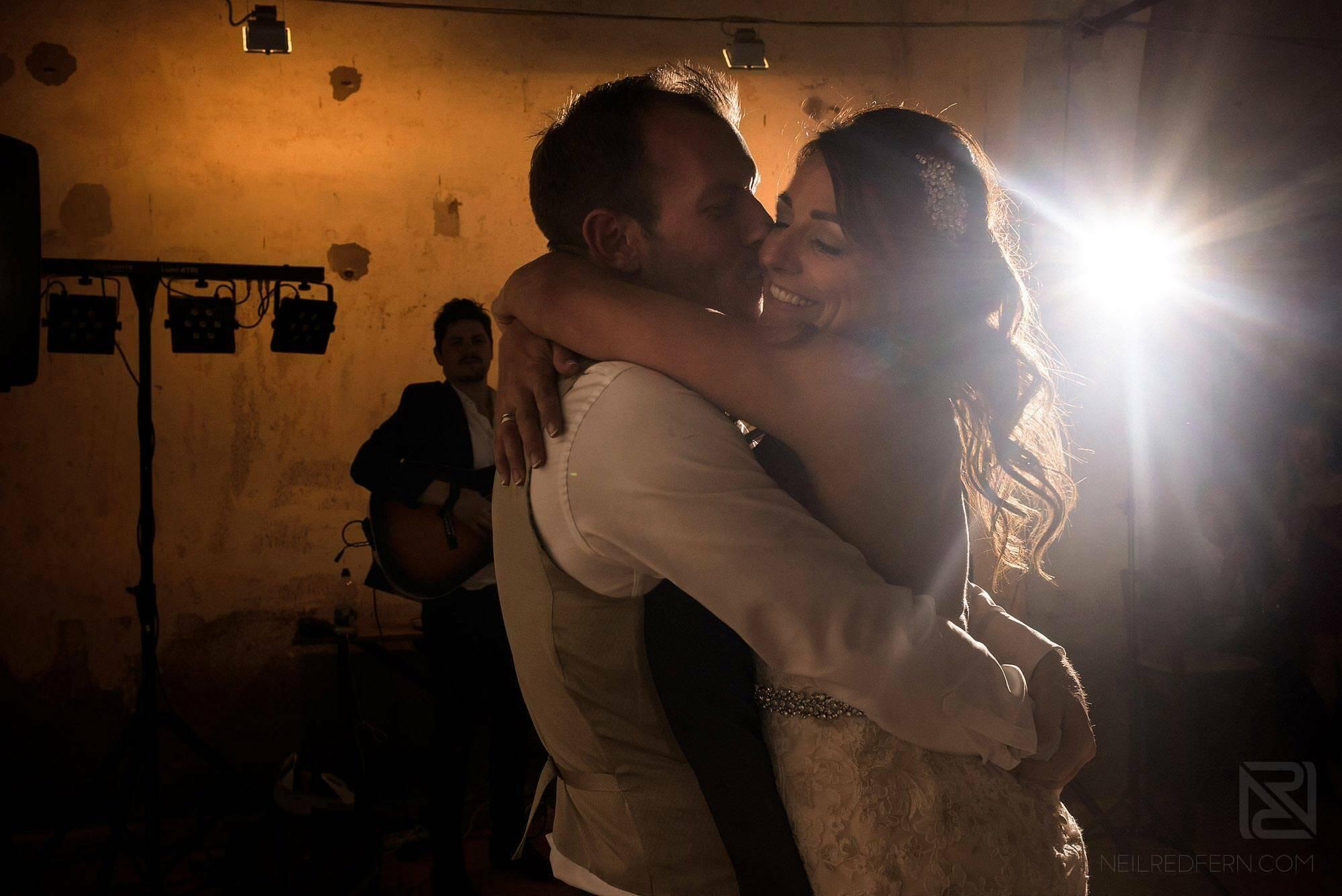 first dance photograph at Montestigliano wedding