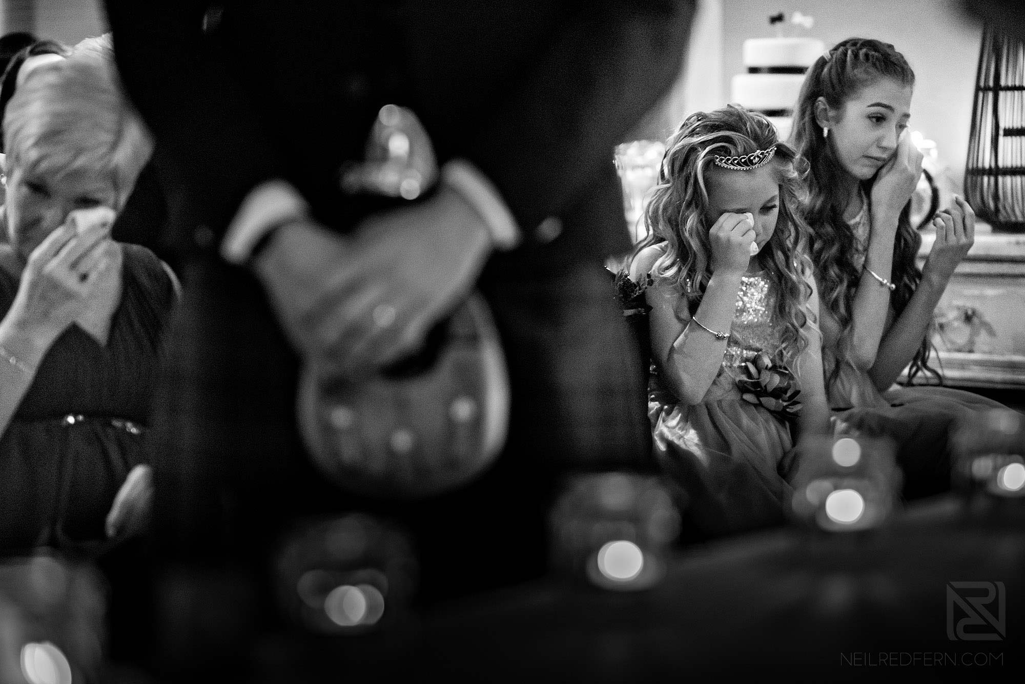 emotional guests at King Street Townhouse wedding