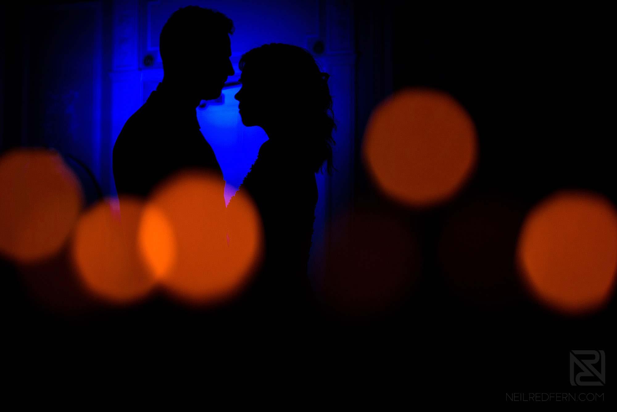 off camera flash wedding portrait using magmods